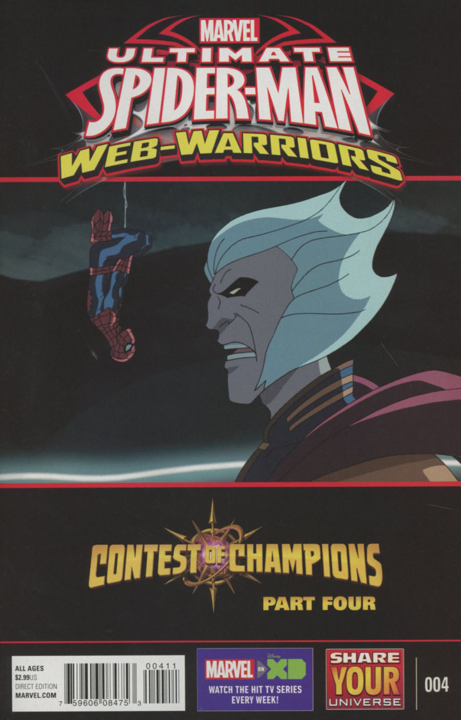 Marvel Universe Ultimate Spider-Man Contest Of Champions #4