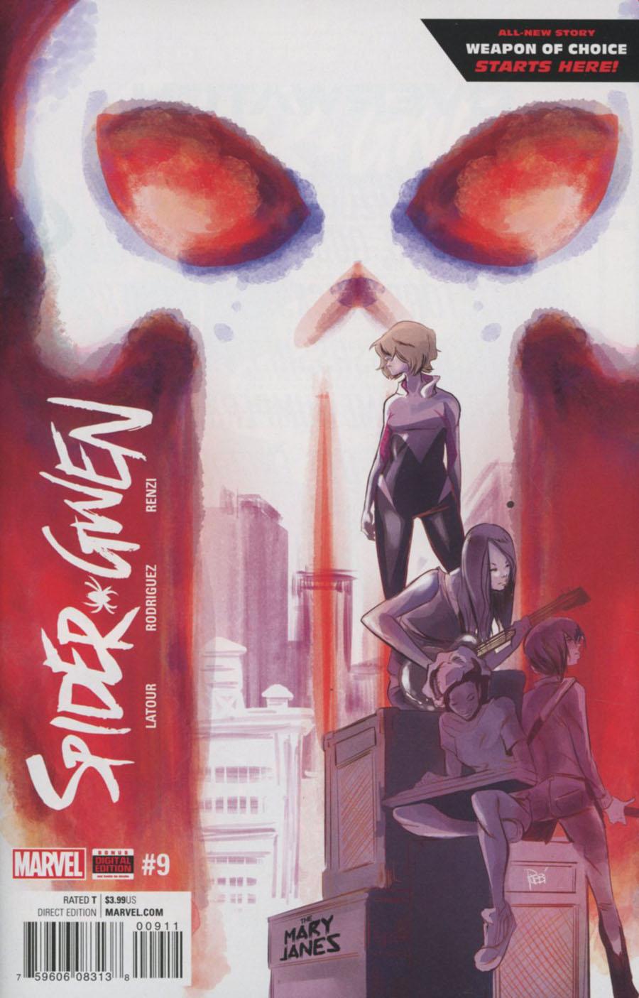 Spider-Gwen Vol 2 #9 Cover A Regular Robbi Rodriguez Cover