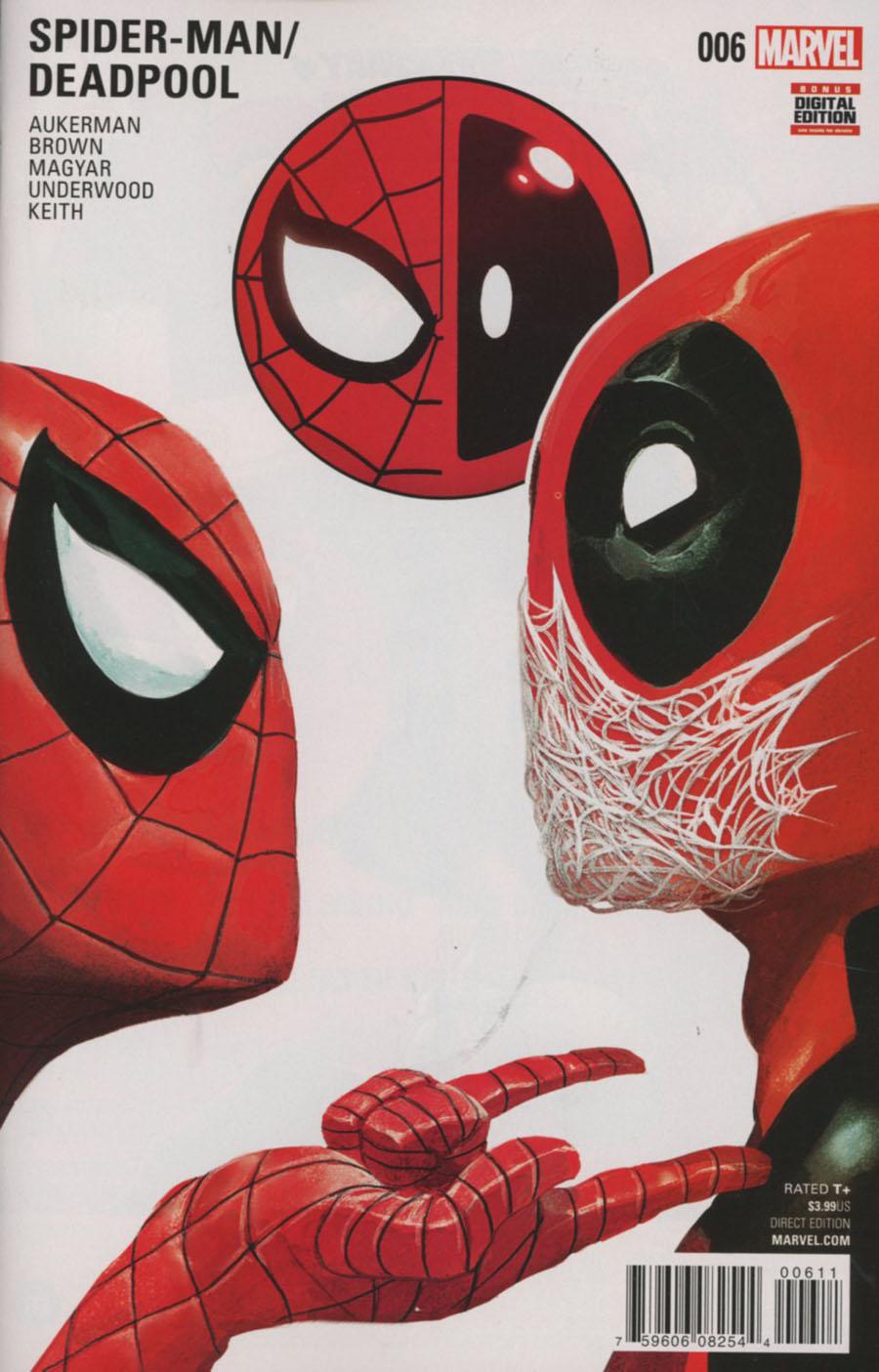 Spider-Man Deadpool #6 Cover A 1st Ptg Regular Mike Del Mundo Cover