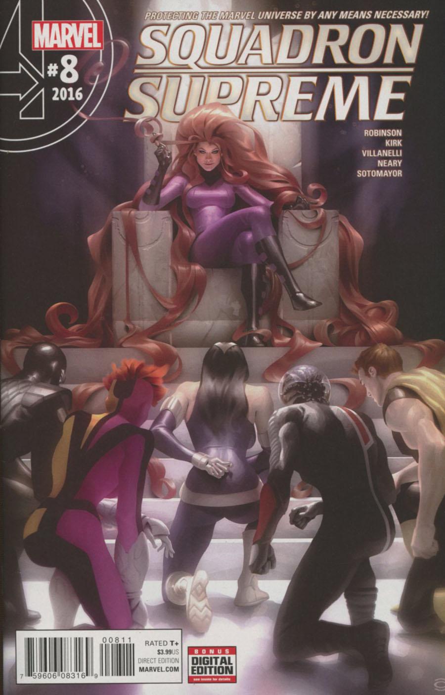 Squadron Supreme Vol 4 #8