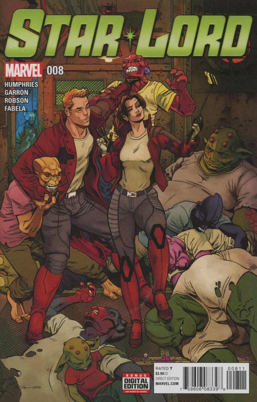 Star-Lord Vol 2 #8 Cover A Regular Mike Hawthorne Cover