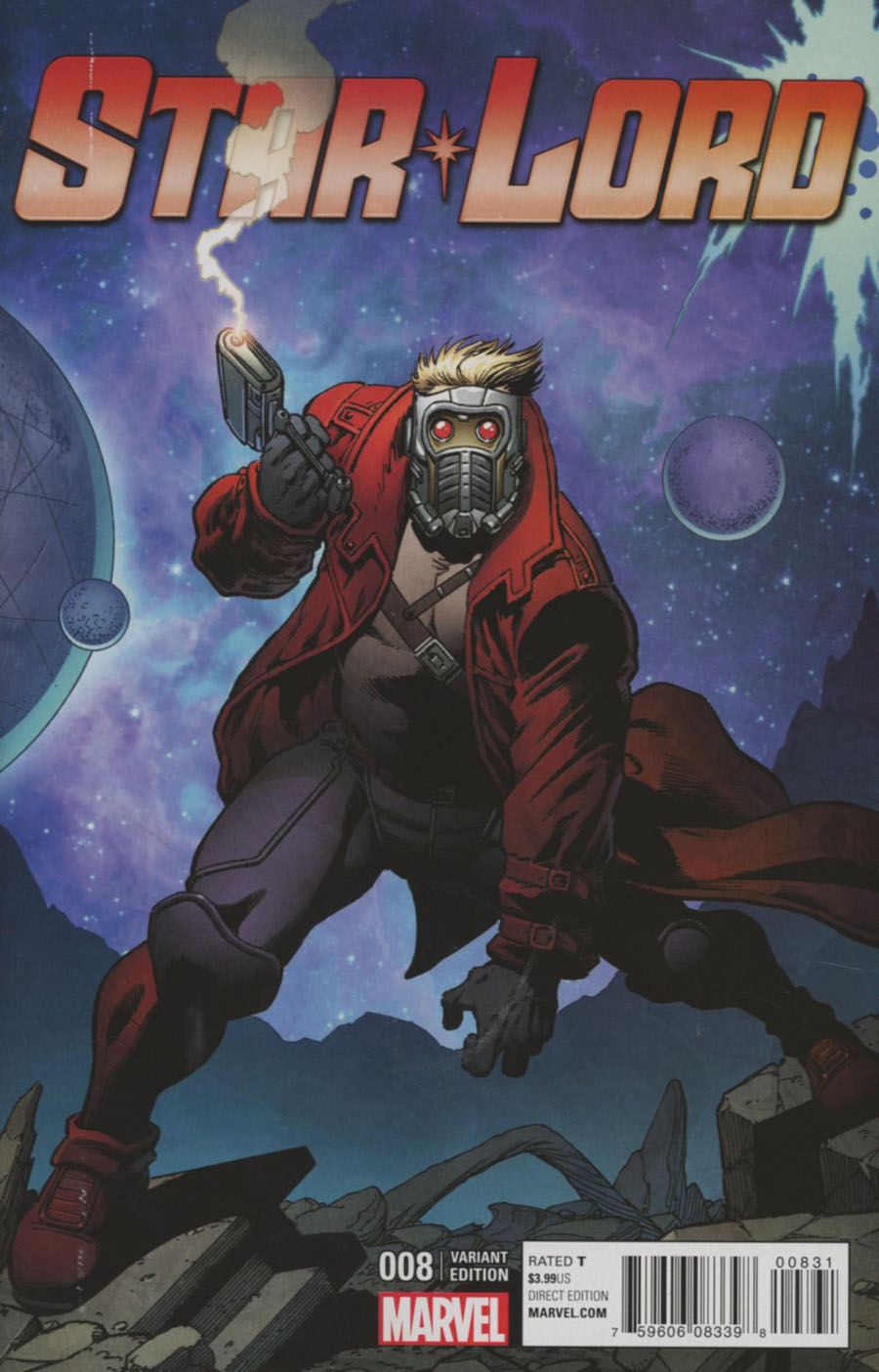 Star-Lord Vol 2 #8 Cover C Variant Jim Starlin Cover