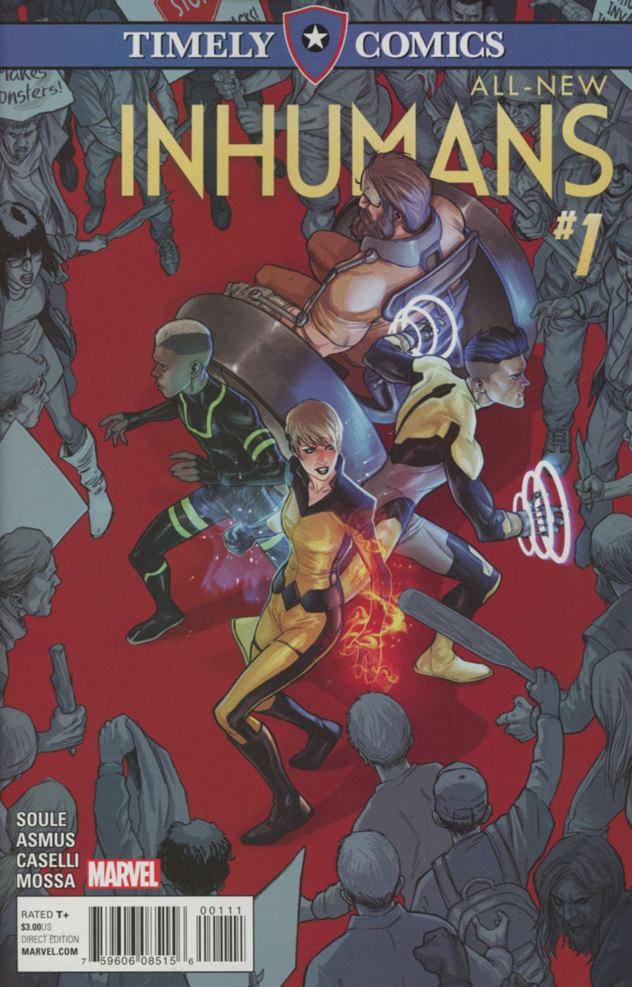 Timely Comics All-New Inhumans #1