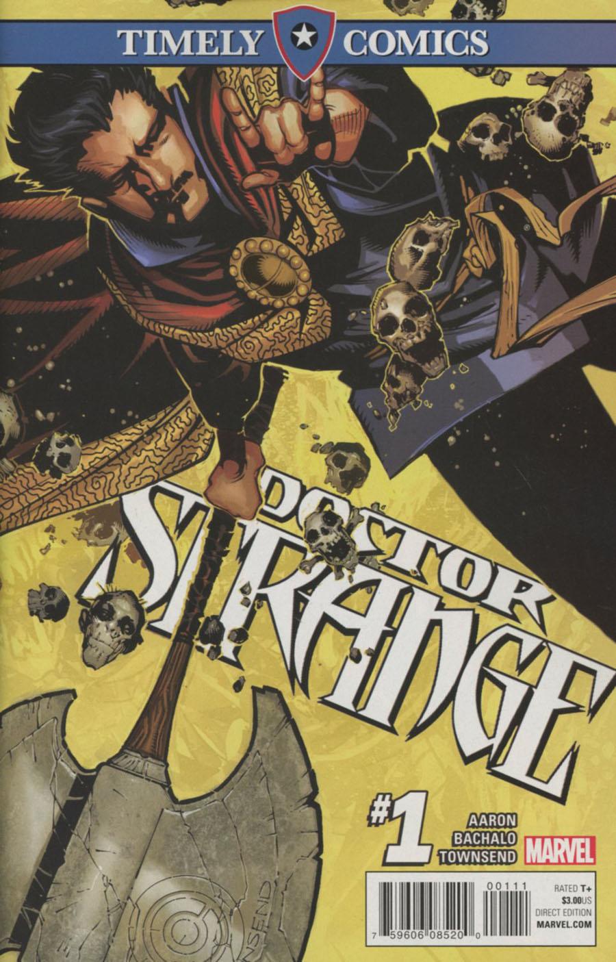 Timely Comics Doctor Strange Vol 4 #1