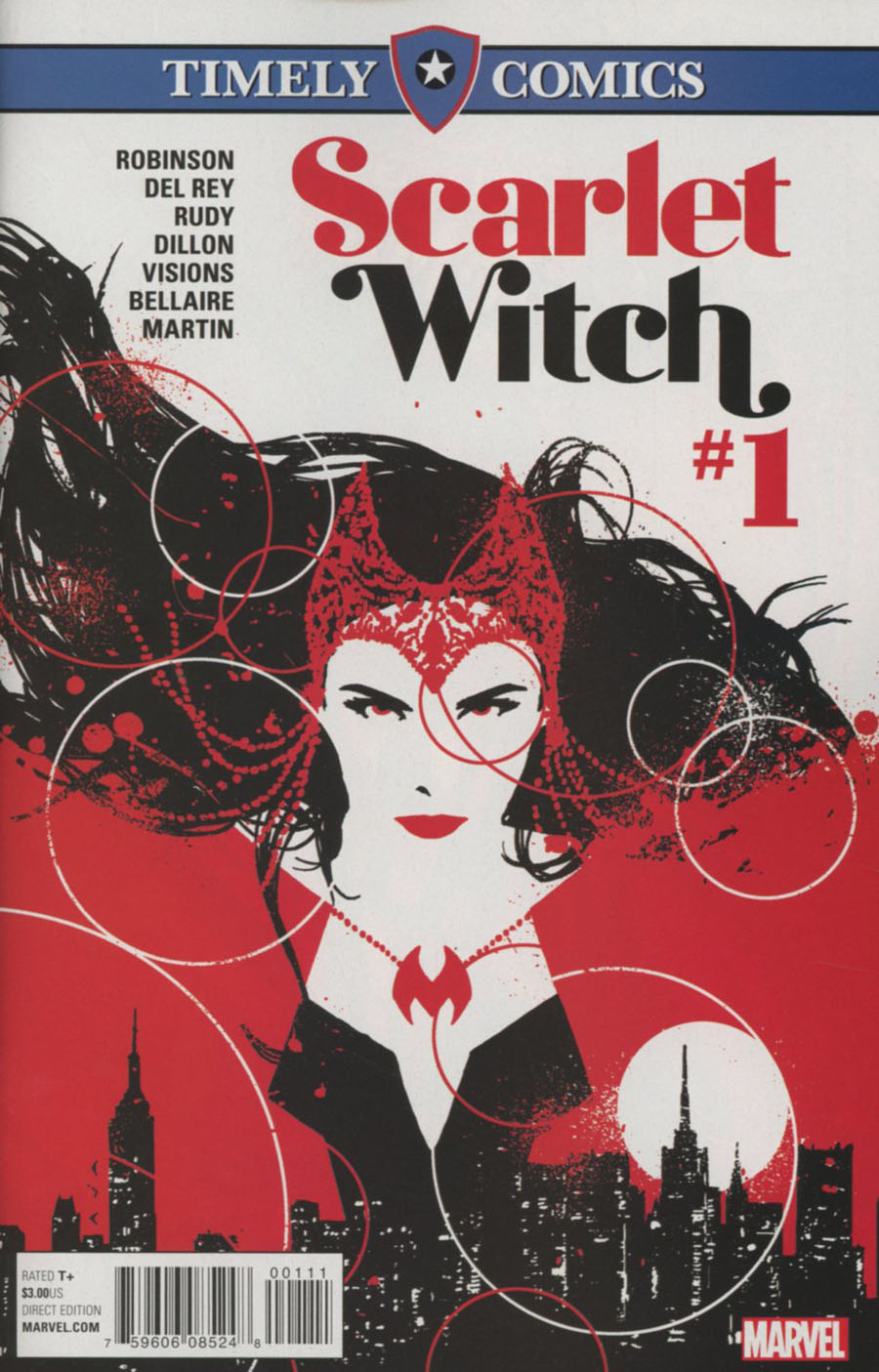 Timely Comics Scarlet Witch Vol 2 #1