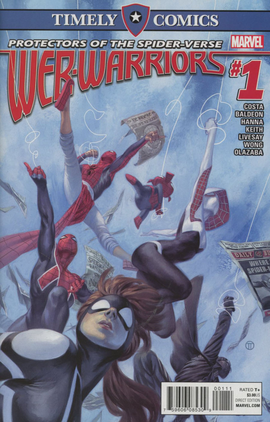 Timely Comics Web Warriors #1