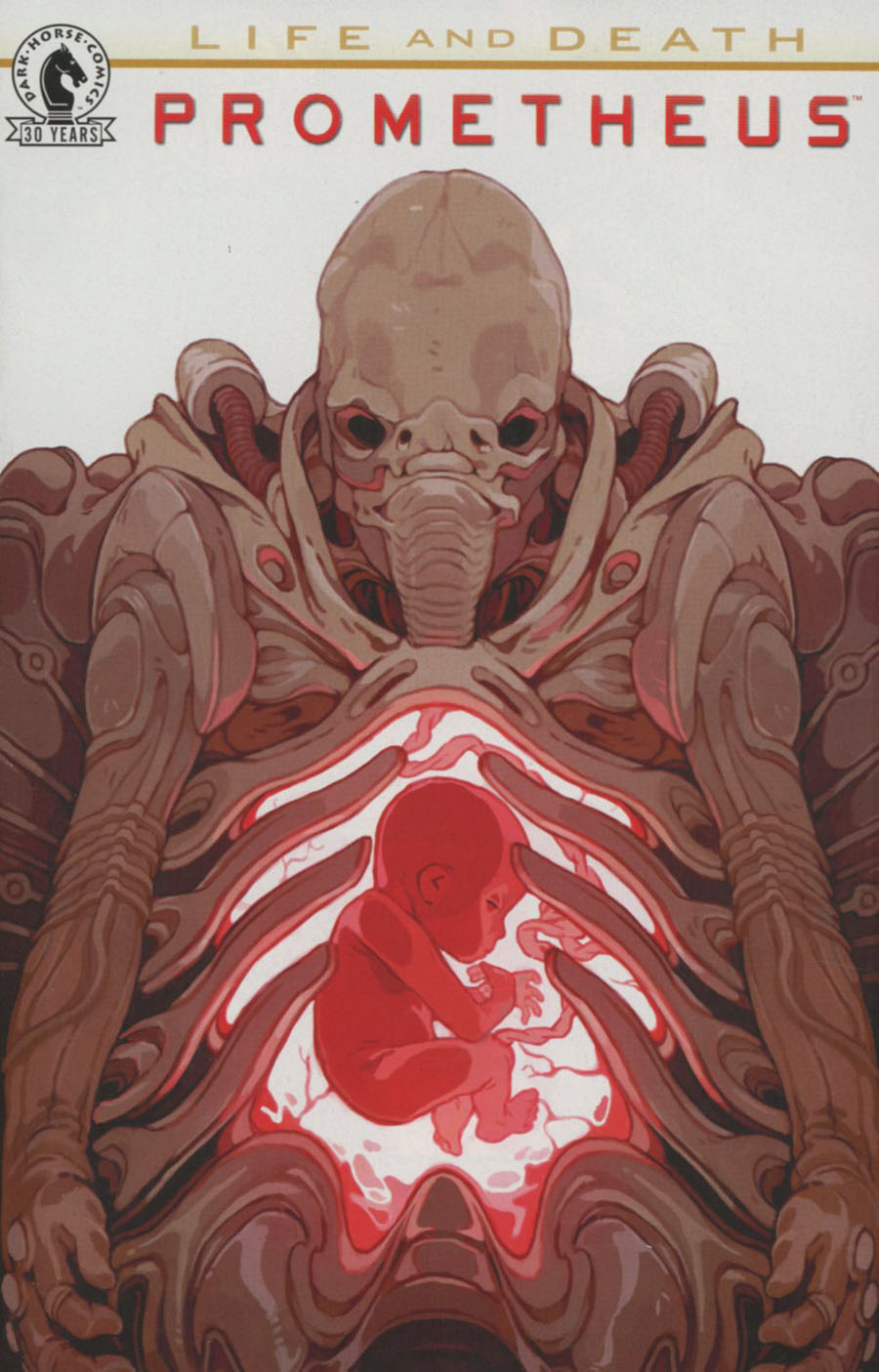Prometheus Life And Death #1 Cover B Variant Sachin Teng Cover