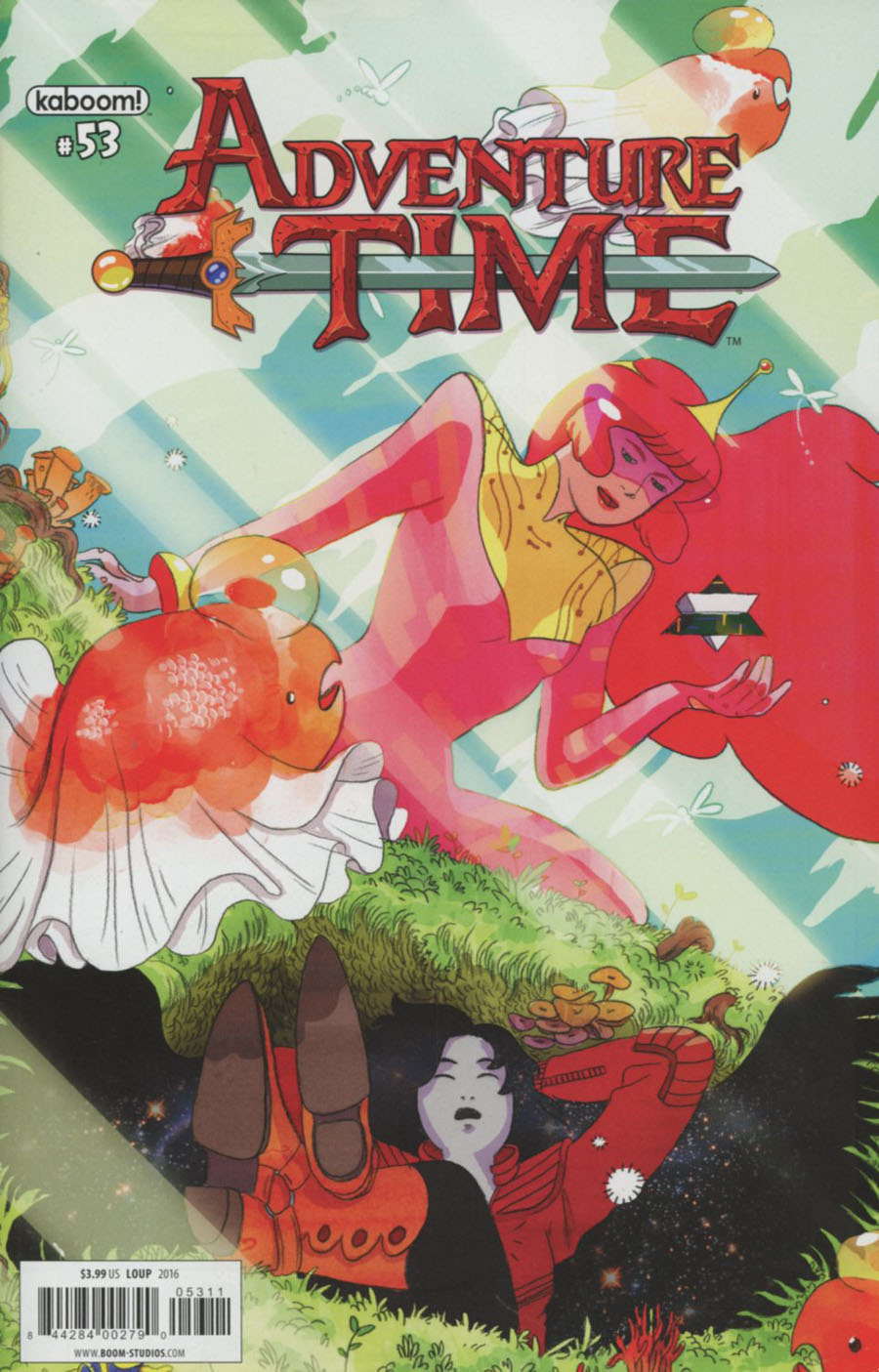 Adventure Time #53 Cover A Regular Celine Loup Cover