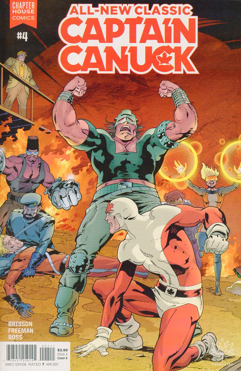 All-New Classic Captain Canuck #4 Cover A Regular George Freeman Cover