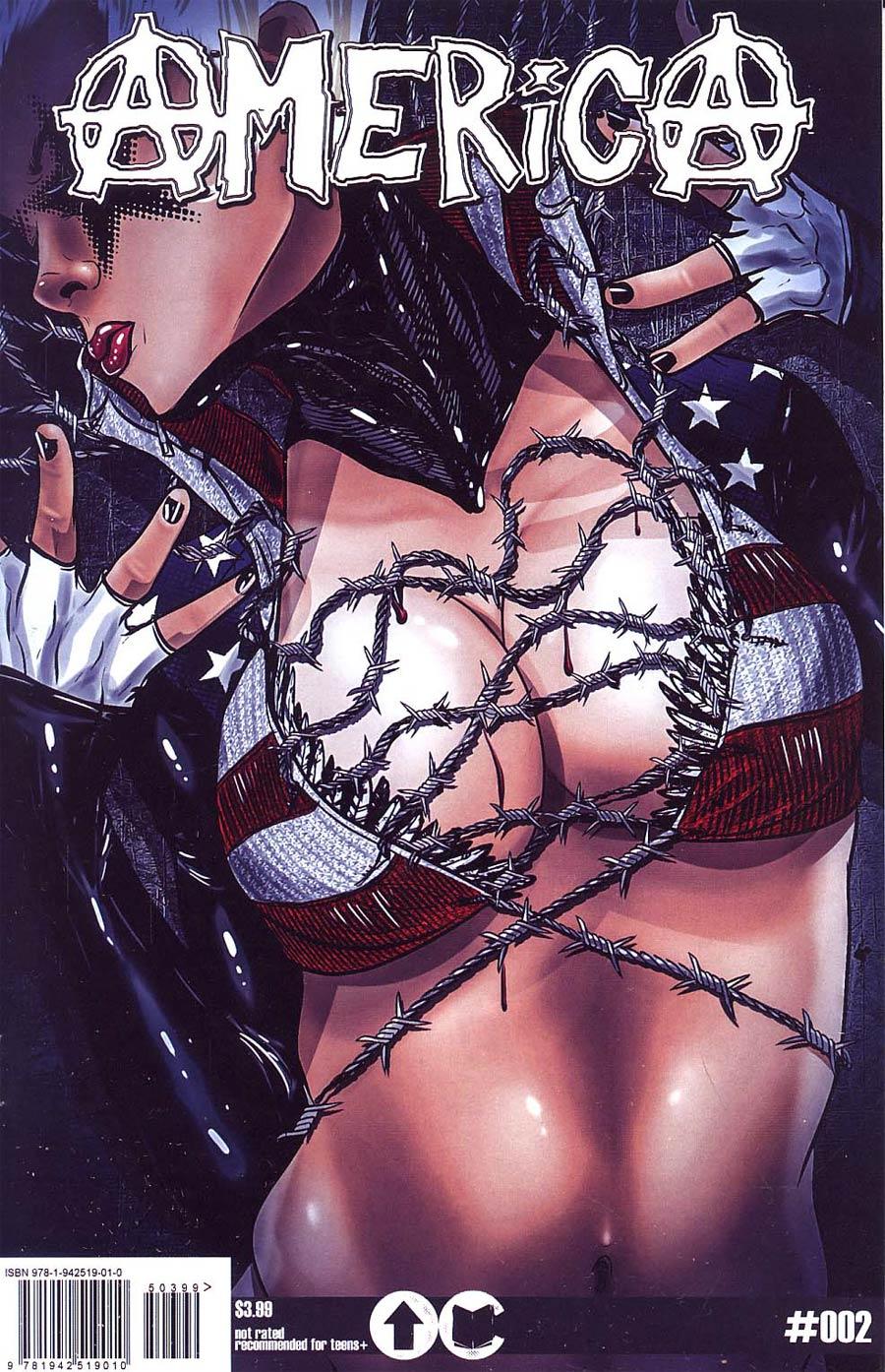 America (Overground Comics) #2