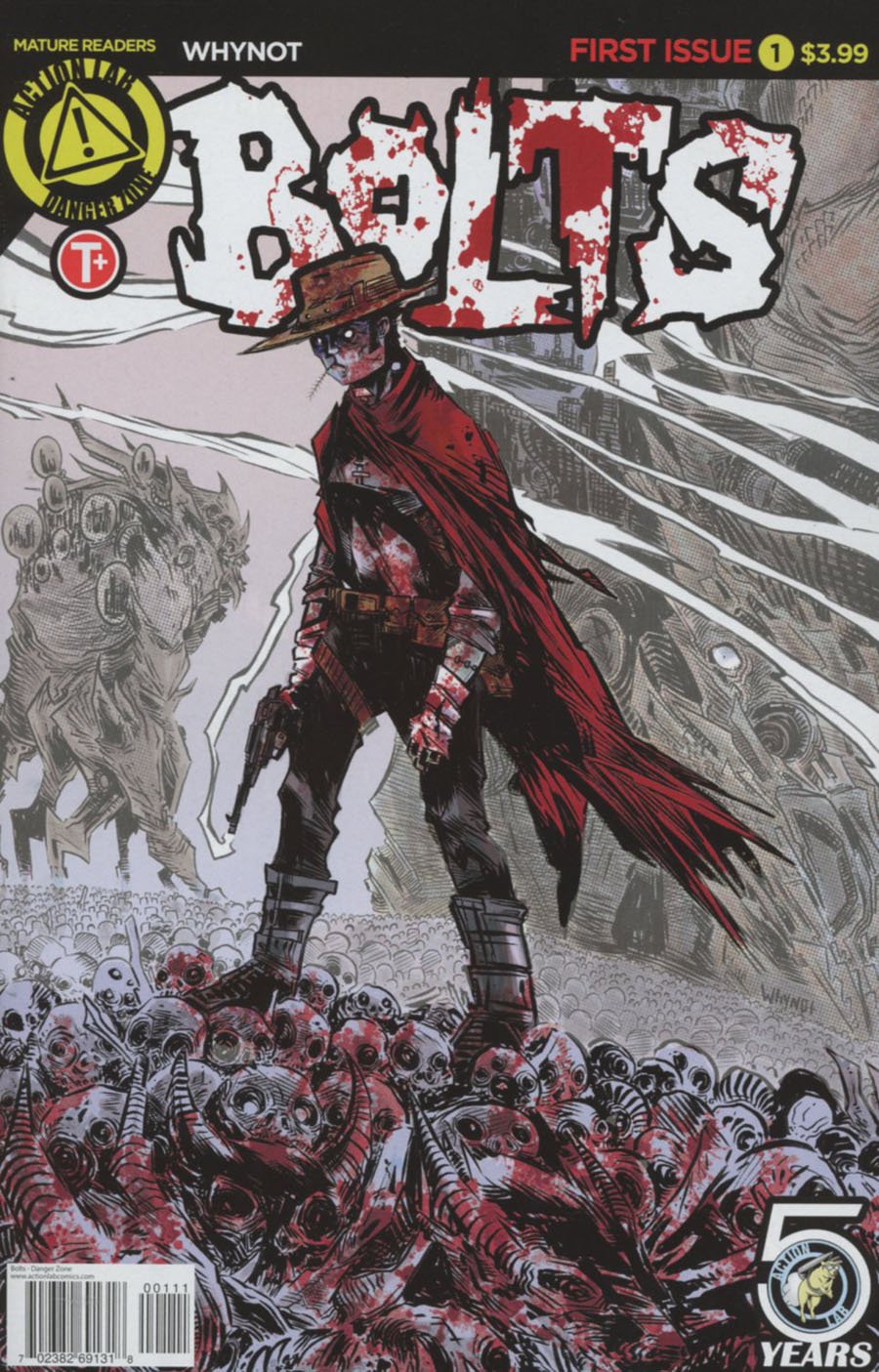 Bolts #1 Cover A Regular James Whynot Cover