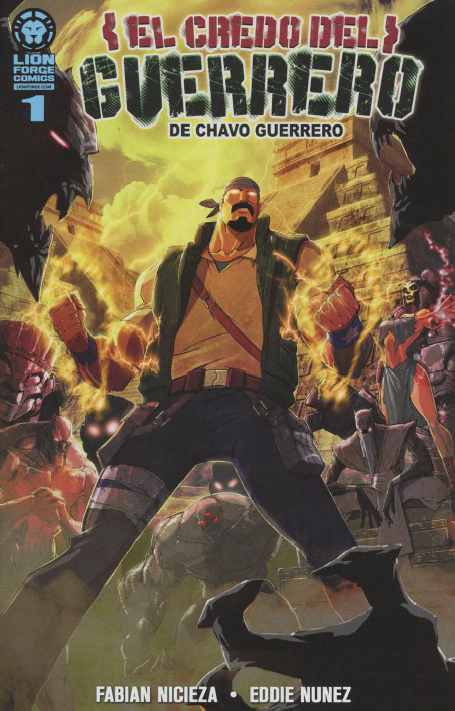 Chavo Guerreros Warriors Creed #1 Spanish Edition