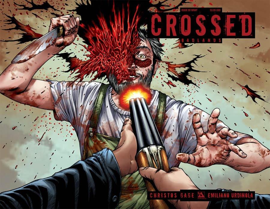 Crossed Badlands #99 Cover C Wraparound Cover