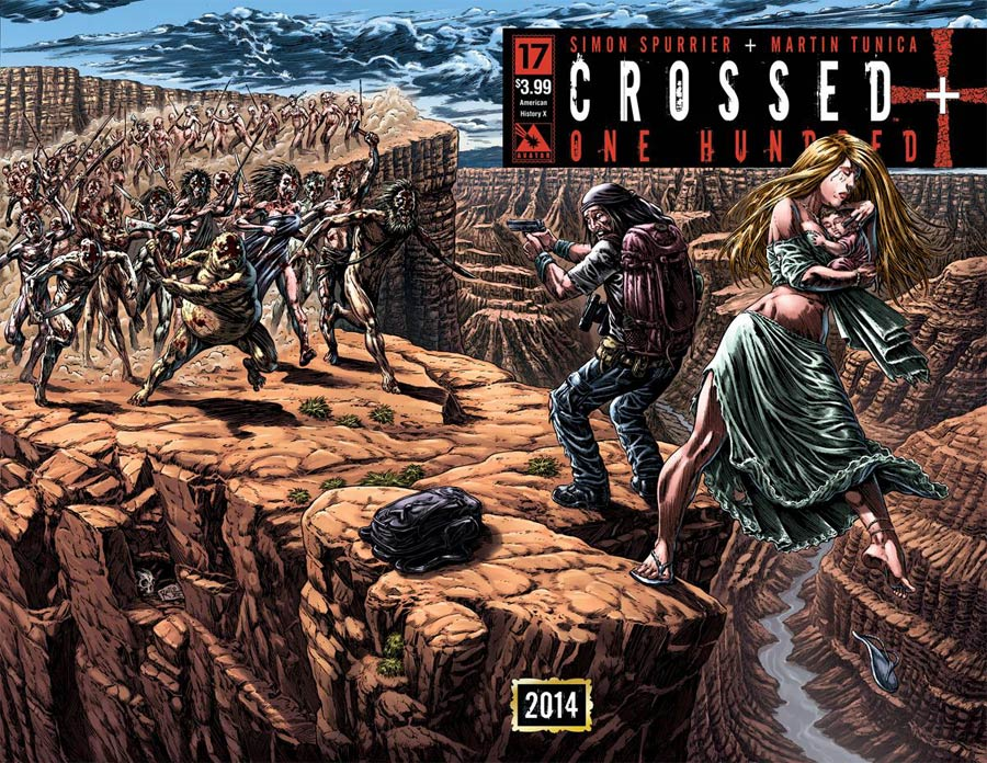 Crossed Plus 100 #17 Cover B American History X Wraparound Cover