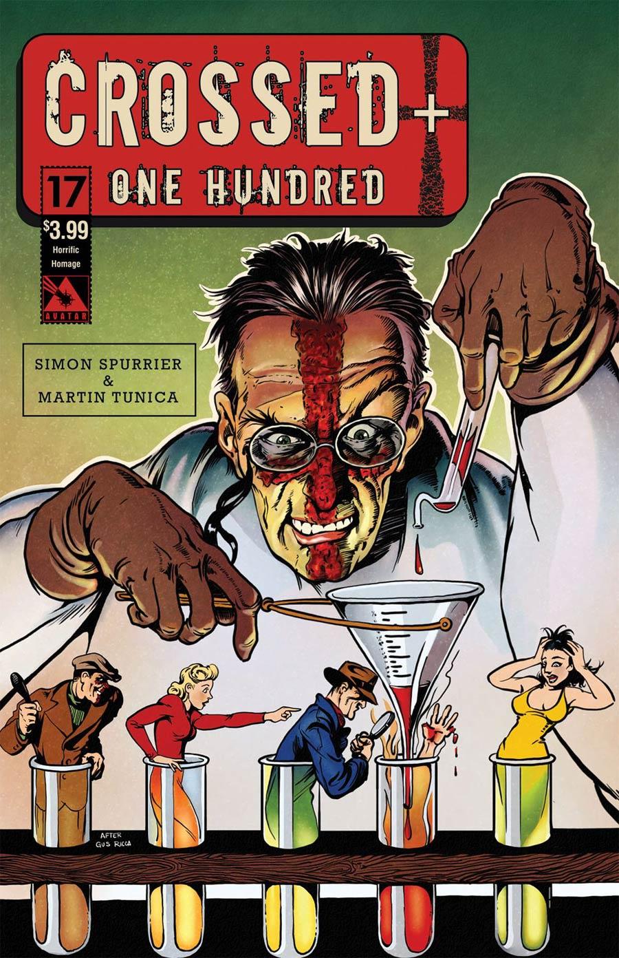 Crossed Plus 100 #17 Cover E Horrific Homage Cover