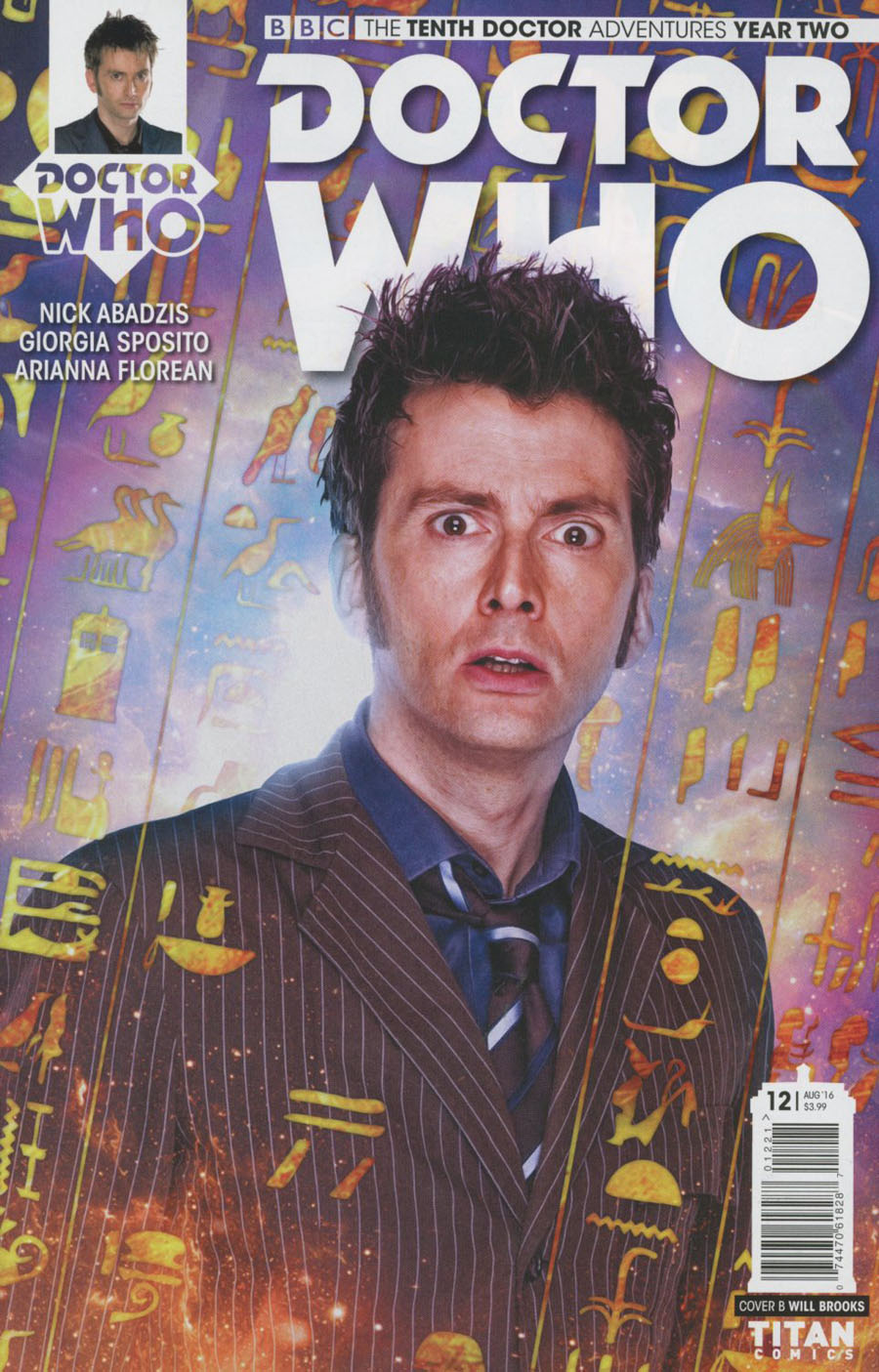 Doctor Who 10th Doctor Year Two #12 Cover B Variant Photo Cover