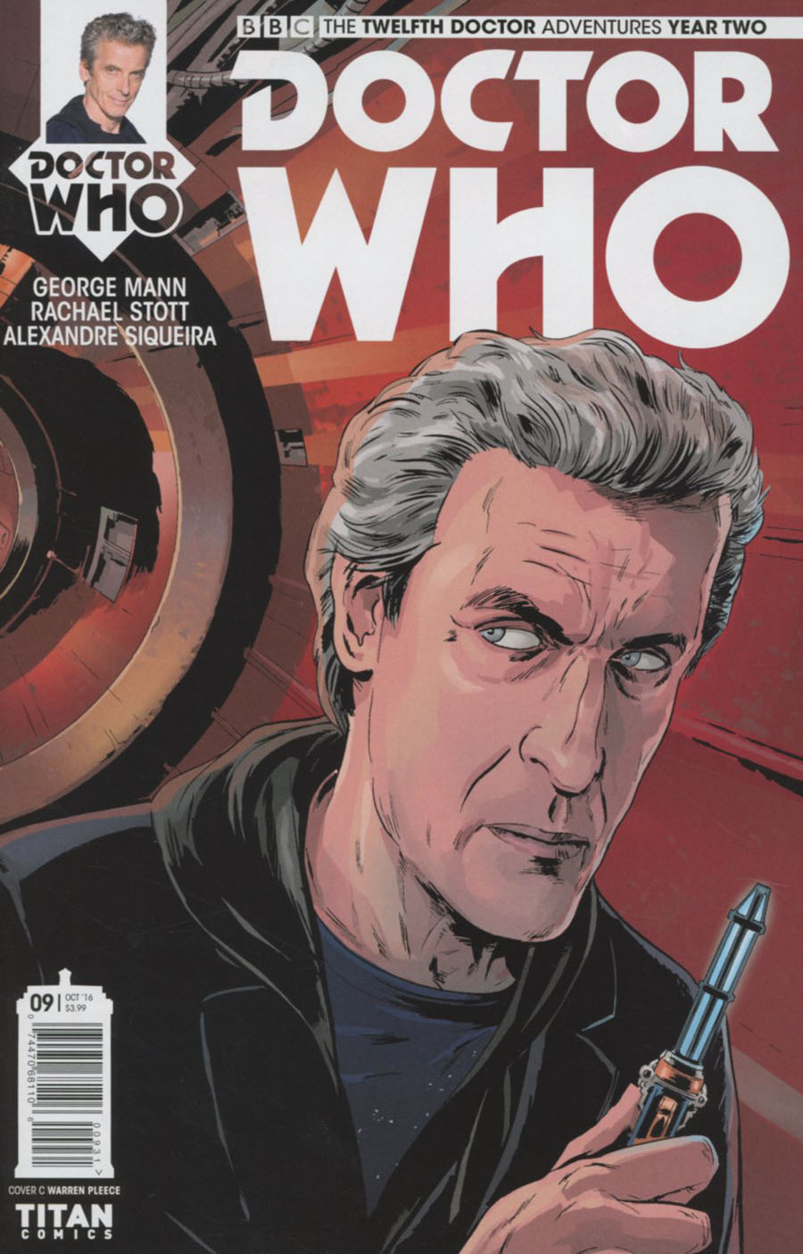 Doctor Who 12th Doctor Year Two #9 Cover C Variant Warren Pleece Cover