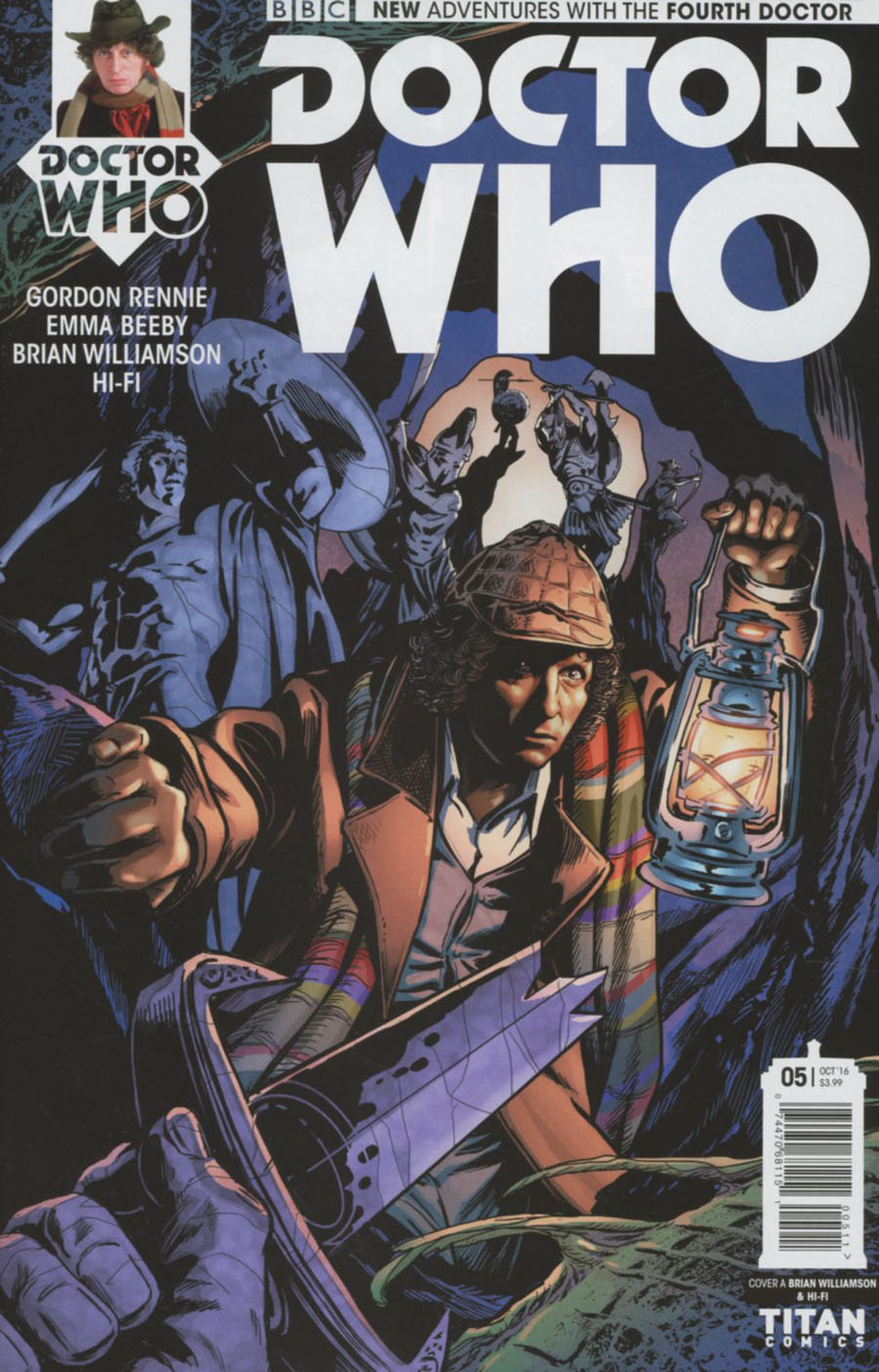 Doctor Who 4th Doctor #5 Cover A Regular Brian Williamson Cover