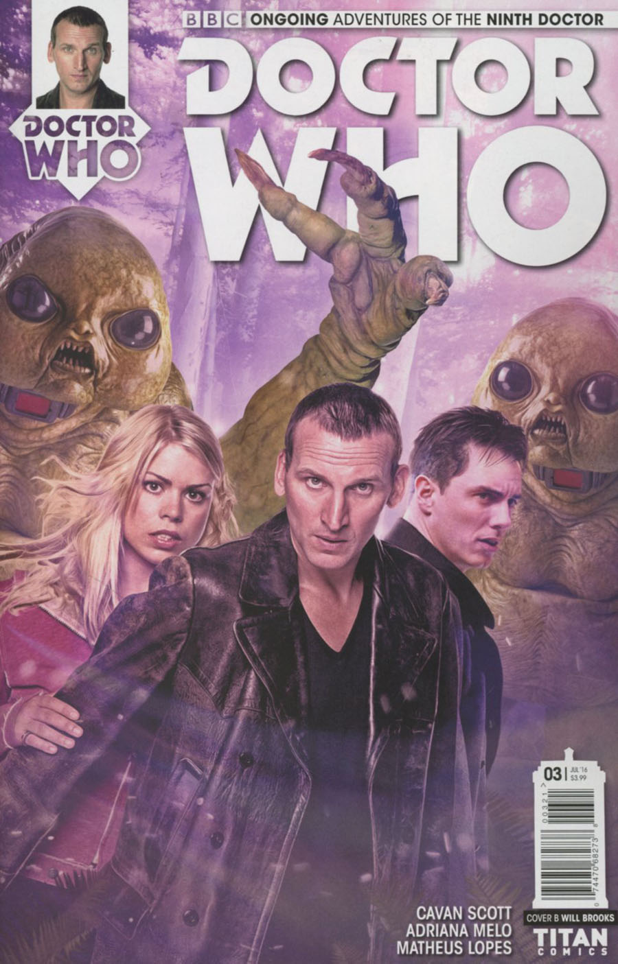Doctor Who 9th Doctor Vol 2 #3 Cover B Variant Photo Cover