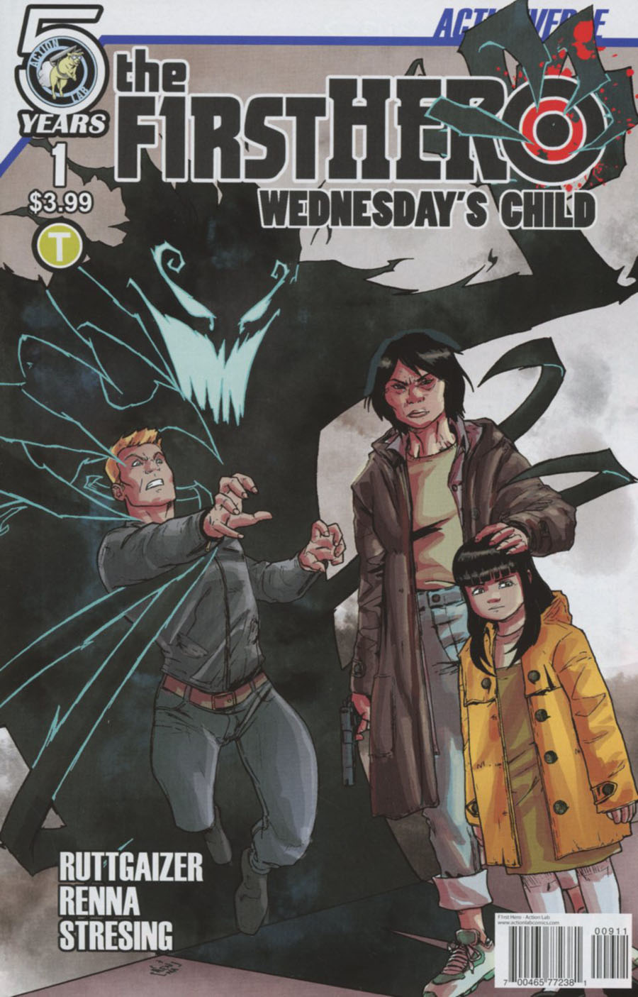 F1rst Hero Wednesdays Child #1 Cover A Regular Marco Renna & Lee Moder Cover