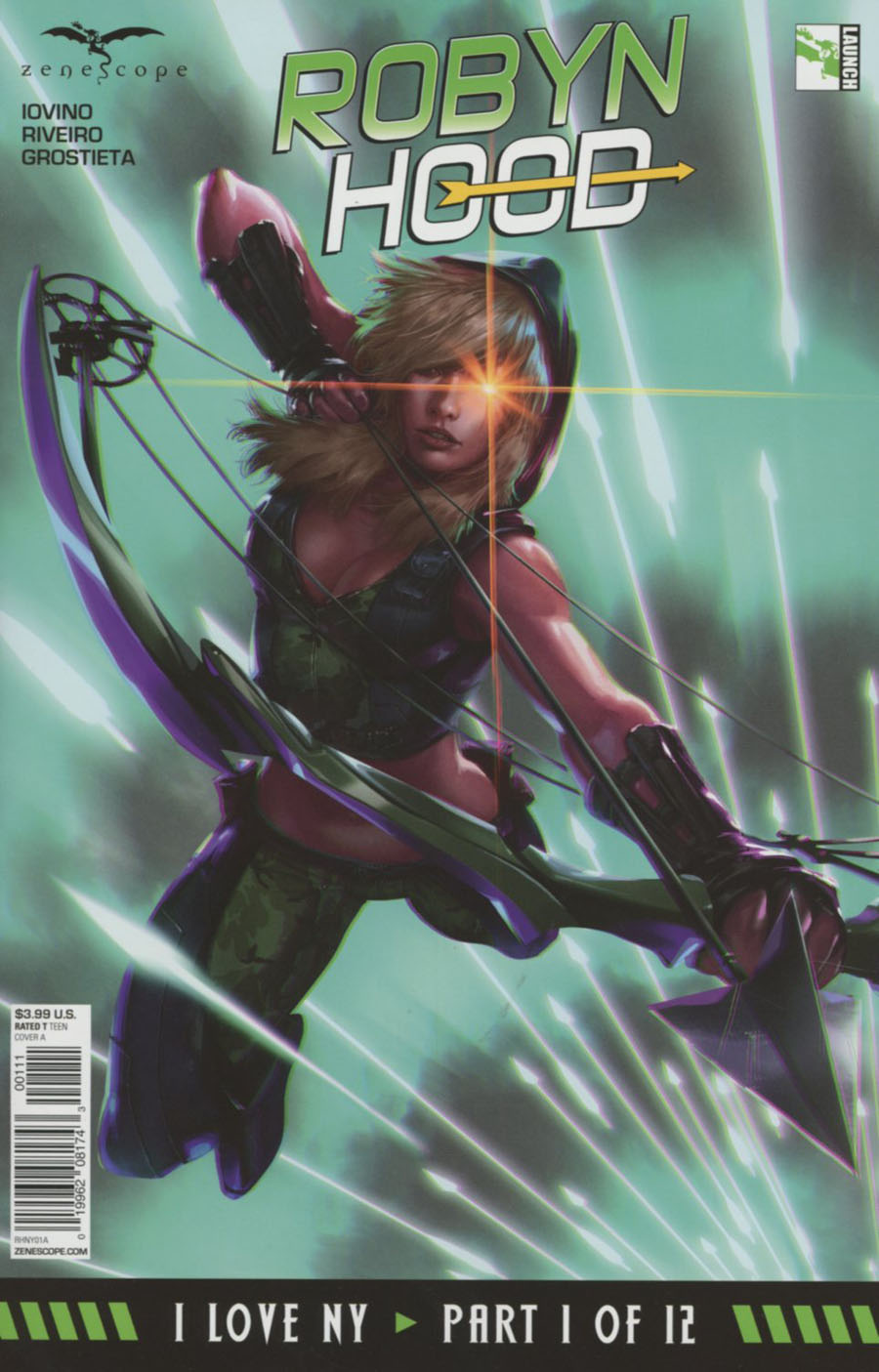 Grimm Fairy Tales Presents Robyn Hood I Love NY #1 Cover A Jarreau Wimberly