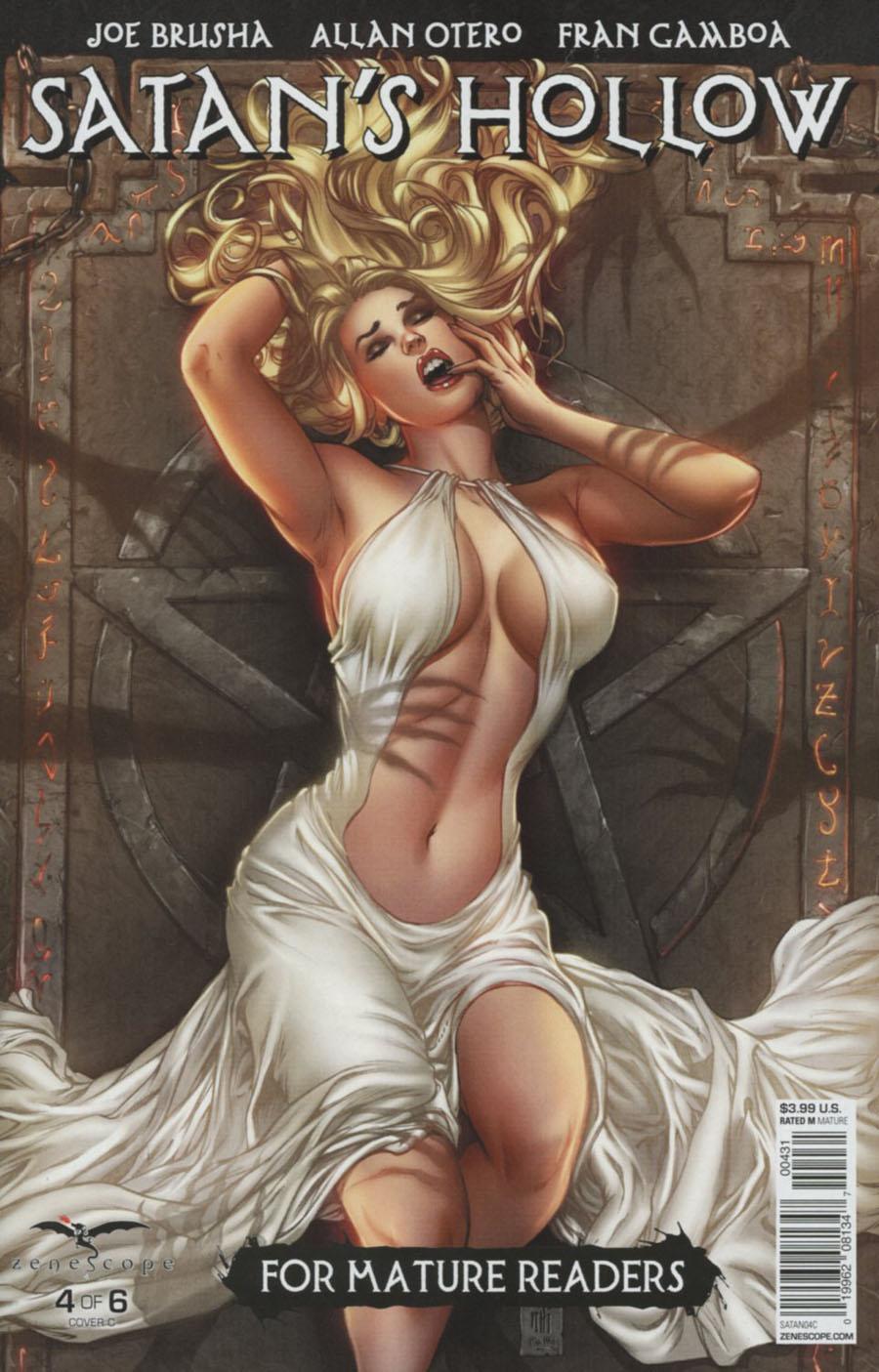 Grimm Fairy Tales Presents Satans Hollow #4 Cover C Mike Krome