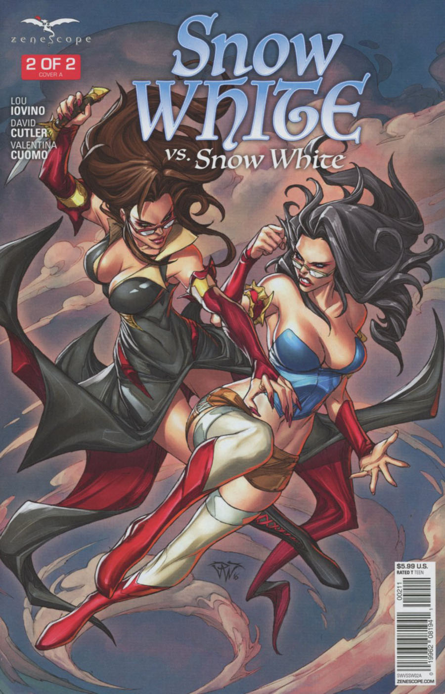 Grimm Fairy Tales Presents Snow White vs Snow White #2 Cover A Paolo Pantalena