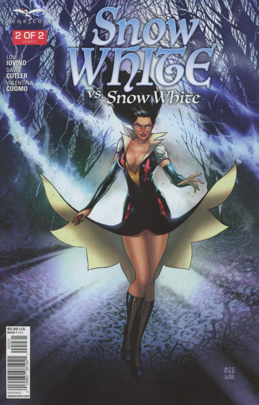 Grimm Fairy Tales Presents Snow White vs Snow White #2 Cover C Ace Continuado