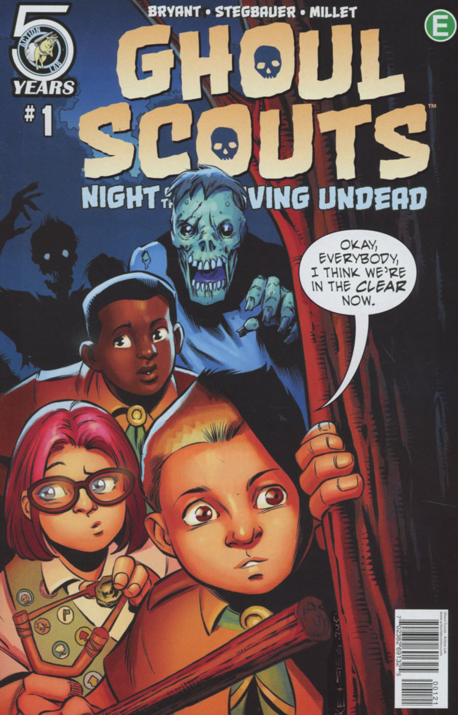 Ghoul Scouts Night Of The Unliving Undead #1 Cover B Variant Mike Norton Cover