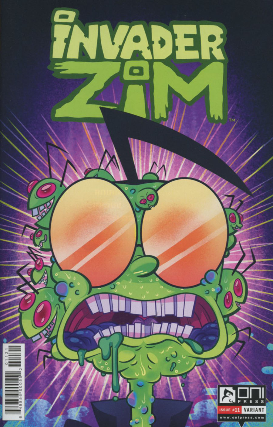 Invader Zim #11 Cover B Variant Mady G Cover