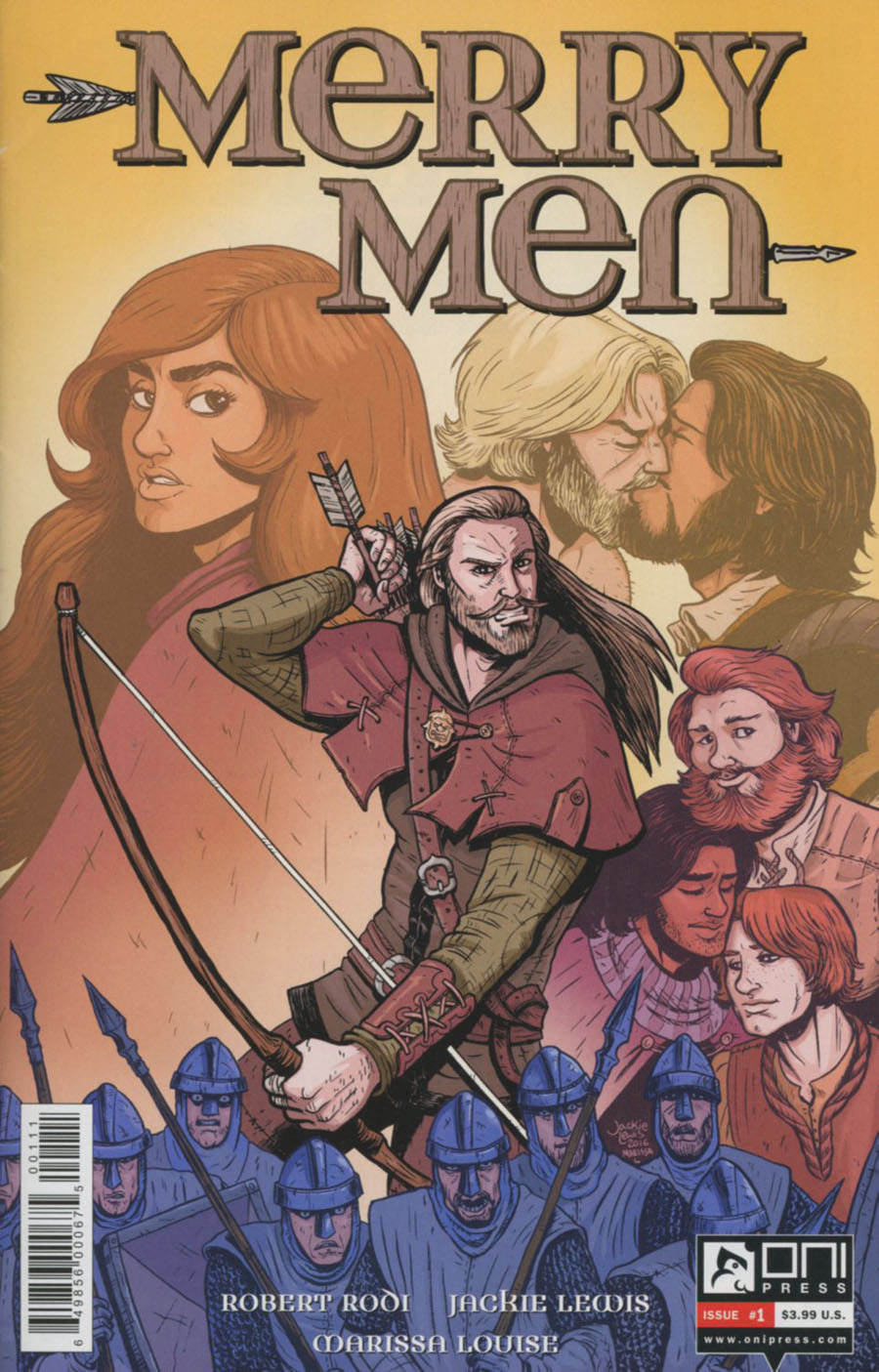 Merry Men #1 Cover A Regular Jackie Lewis Cover