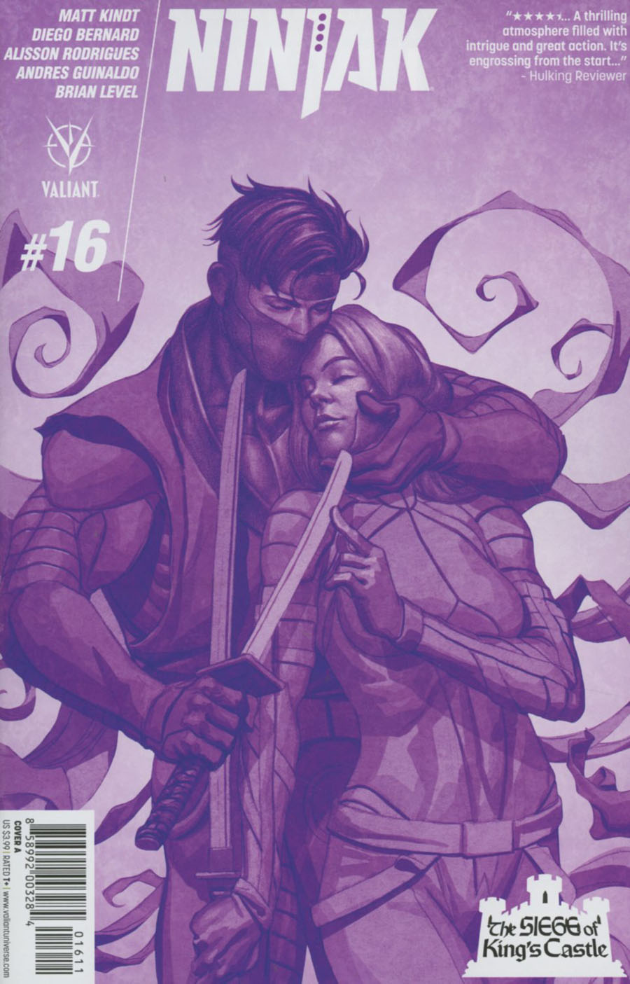 Ninjak Vol 3 #16 Cover A Regular Mike Choi Cover