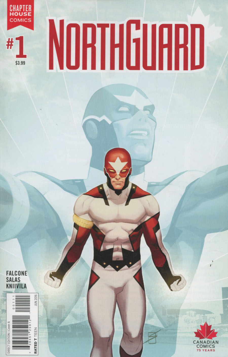 Northguard #1 Cover A Regular Ron Salas Cover