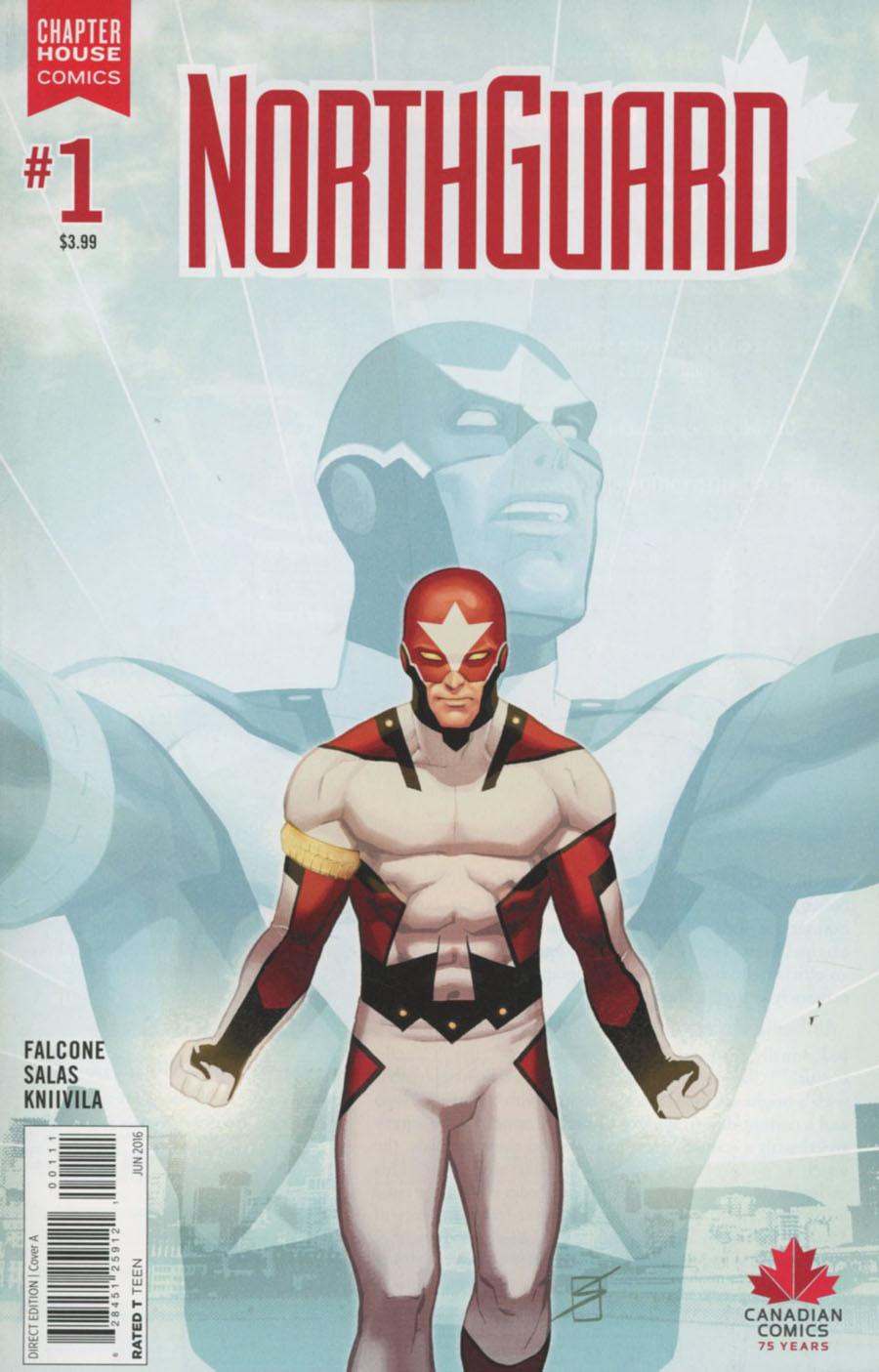 Northguard #1 Cover A Regular Ron Salas Cover