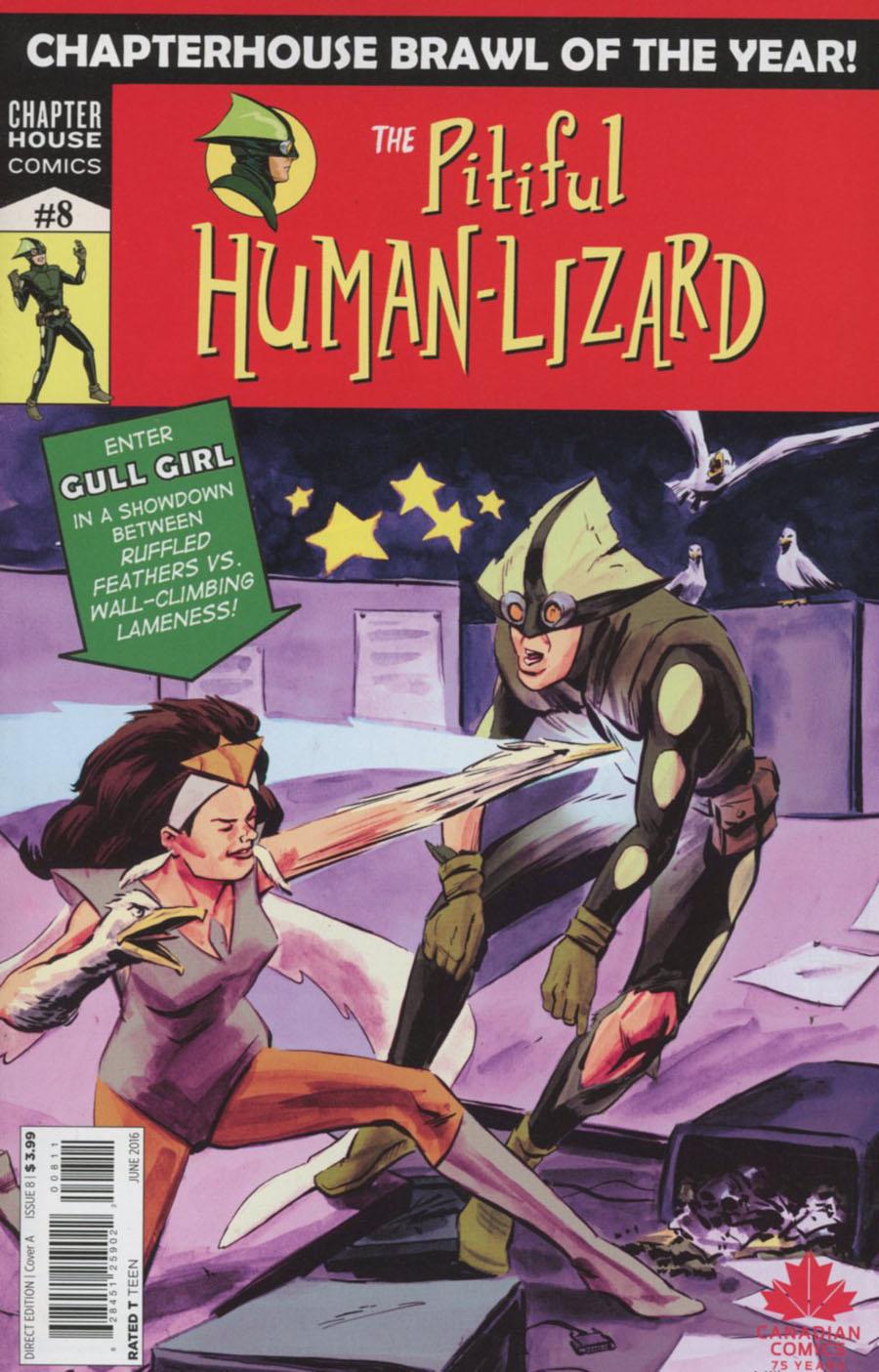 Pitiful Human-Lizard #8 Cover A Regular Jason Loo Cover