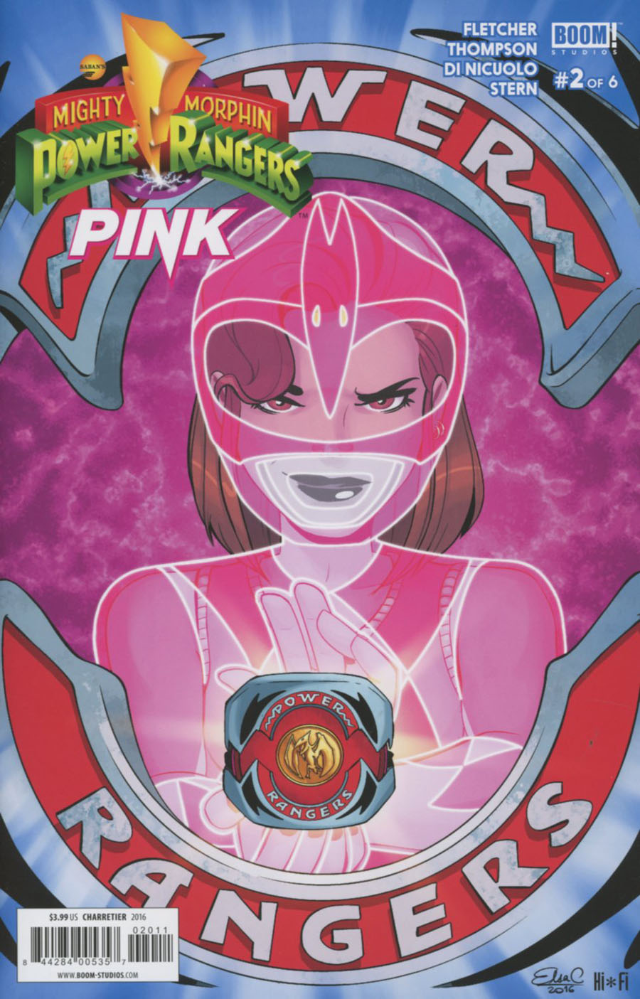 Mighty Morphin Power Rangers Pink #2 Cover A Regular Elsa Charretier Cover