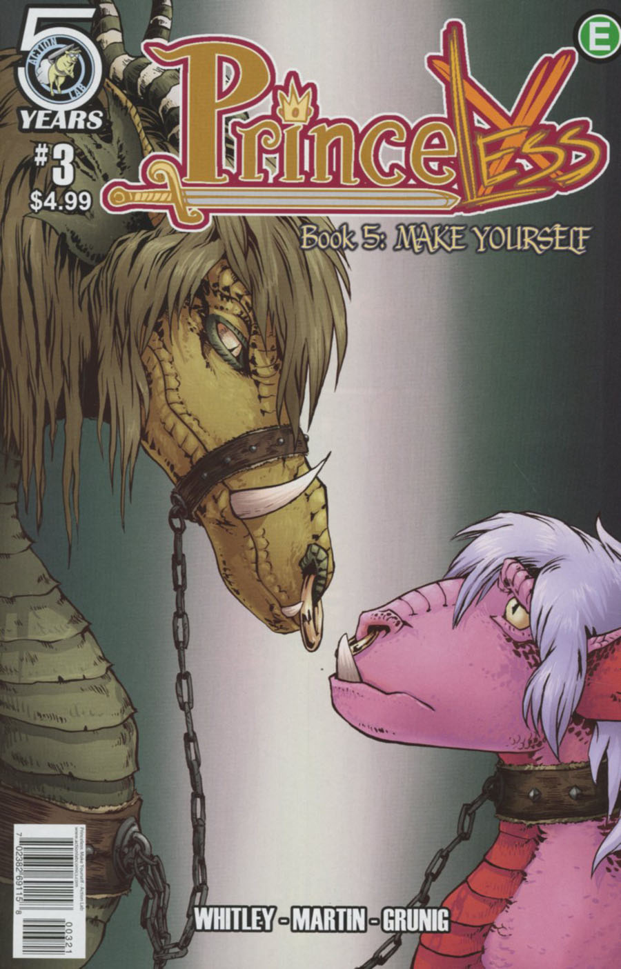 Princeless Make Yourself #3 Cover B Variant Emily Martin & Brett Grunig Cover