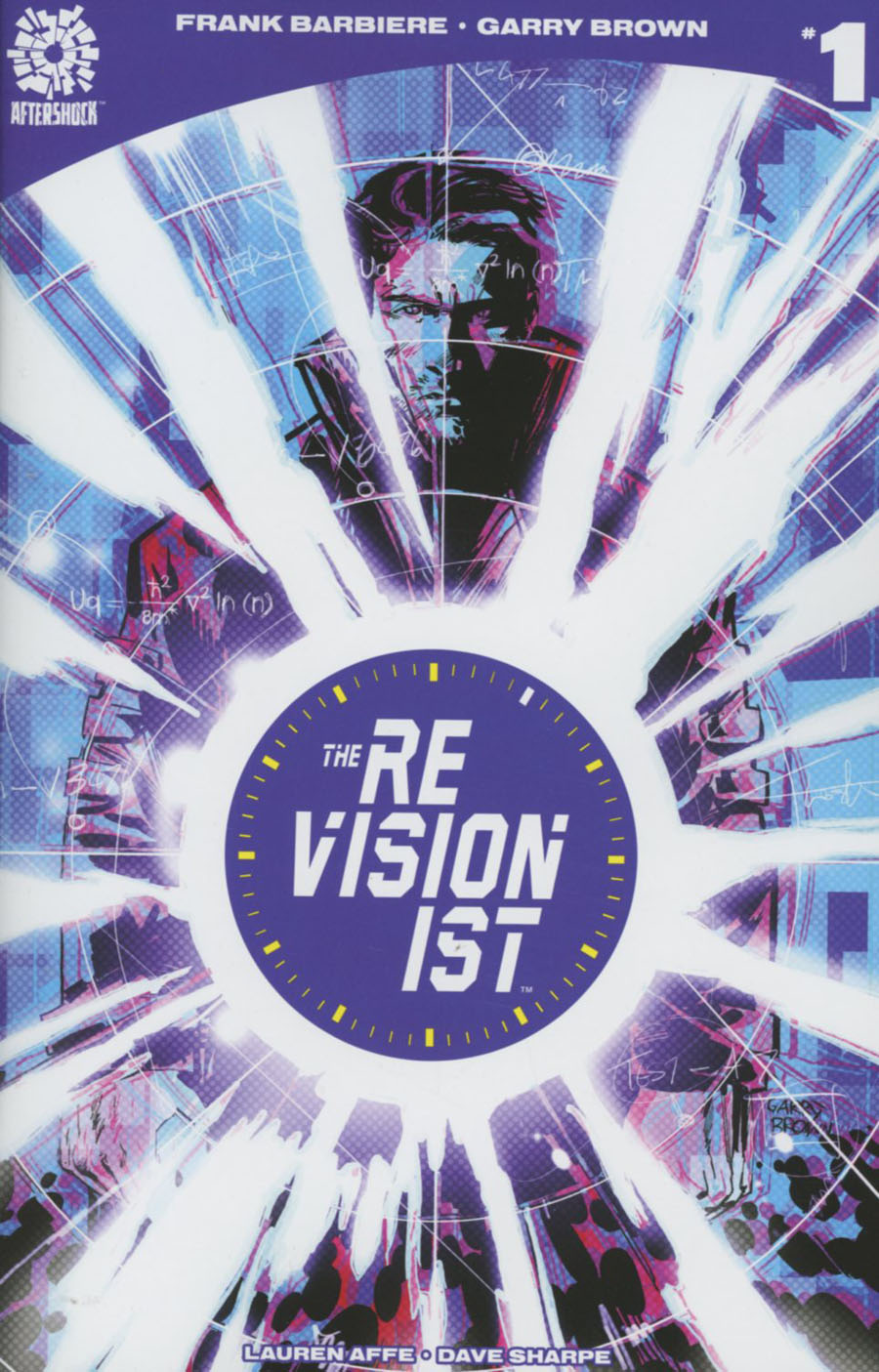Revisionist #1 Cover A Regular Garry Brown Cover