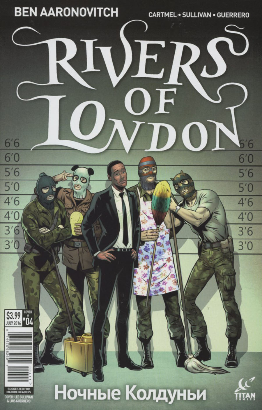 Rivers Of London Night Witch #4 Cover B Variant Lee Sullivan Cover
