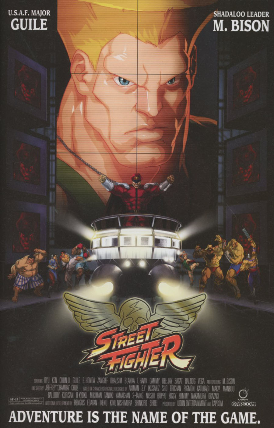 Street Fighter Unlimited #7 Cover C Variant Jeffrey Chamba Cruz Movie Poster Cover