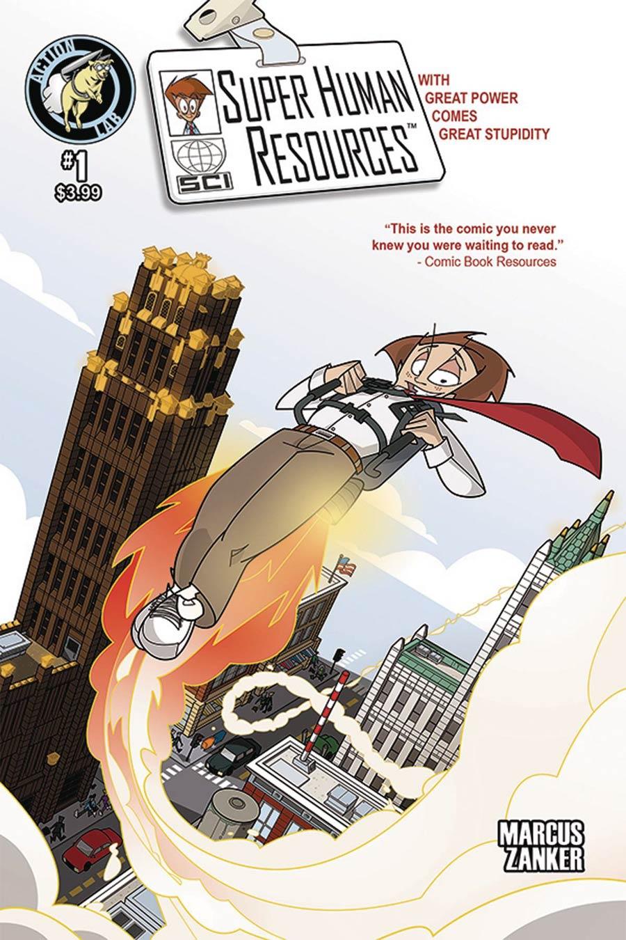 Super Human Resources Vol 2 #1 Cover A Regular Justin Bleep Cover