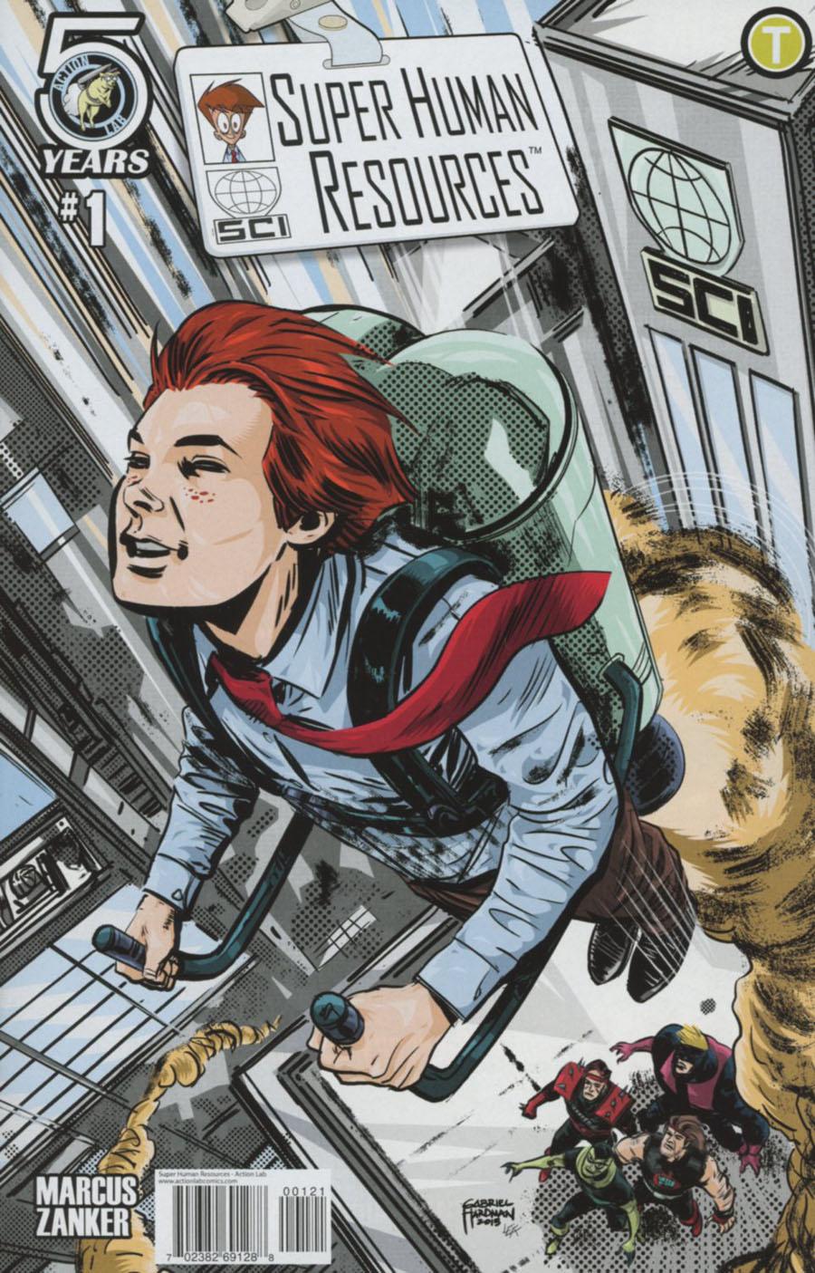 Super Human Resources Vol 2 #1 Cover B Variant Gabriel Hardman Cover