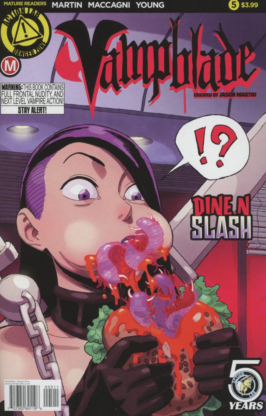 Vampblade #5 Cover A Regular Winston Young Cover