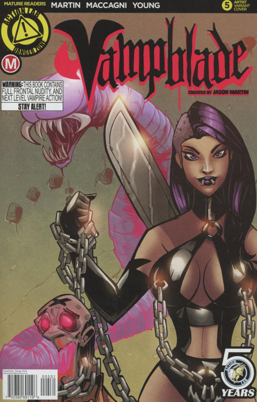 Vampblade #5 Cover C Variant Marcelo Trom Cover