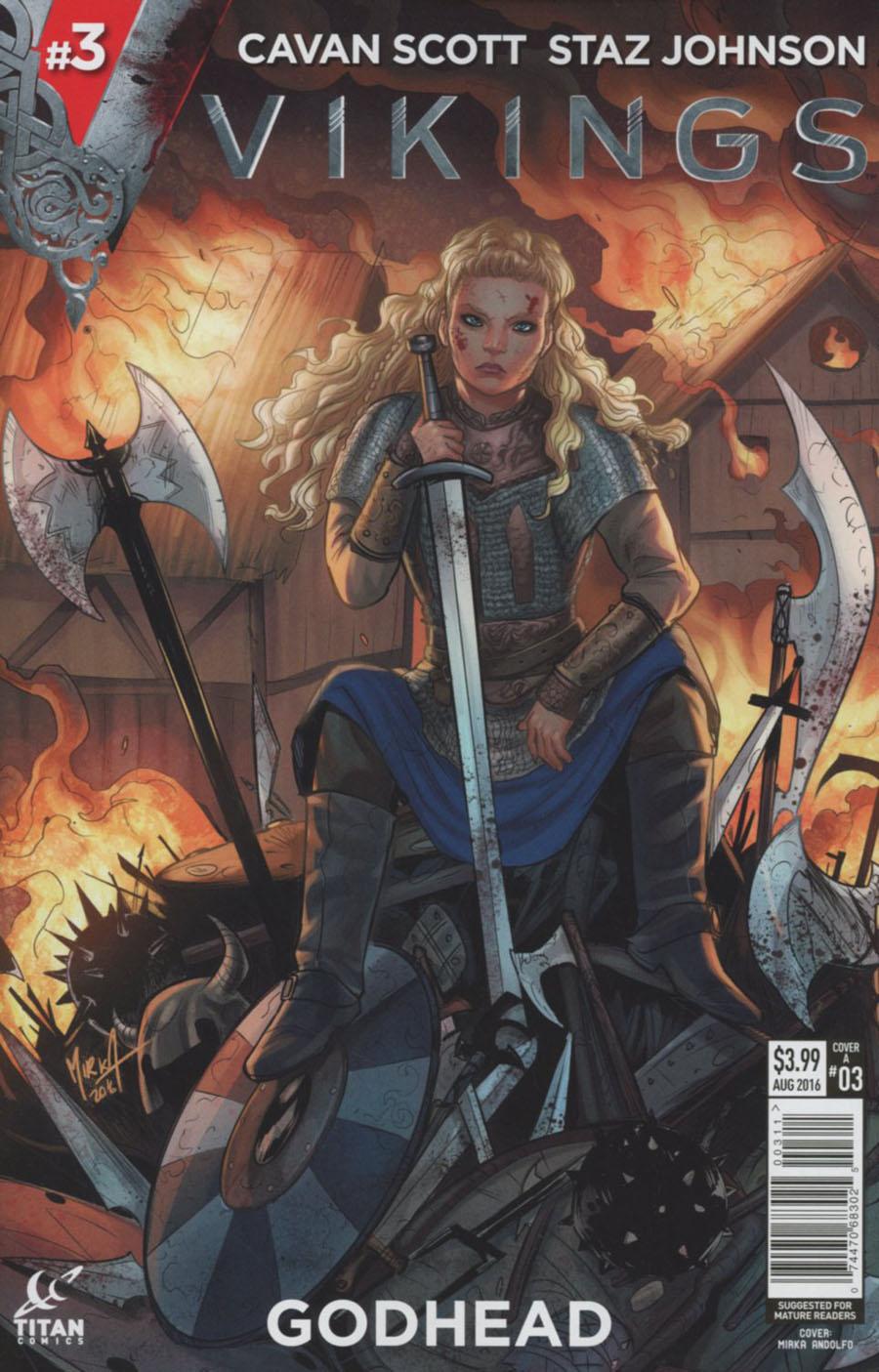 Vikings #3 Cover A Regular Mirka Andolfo Cover
