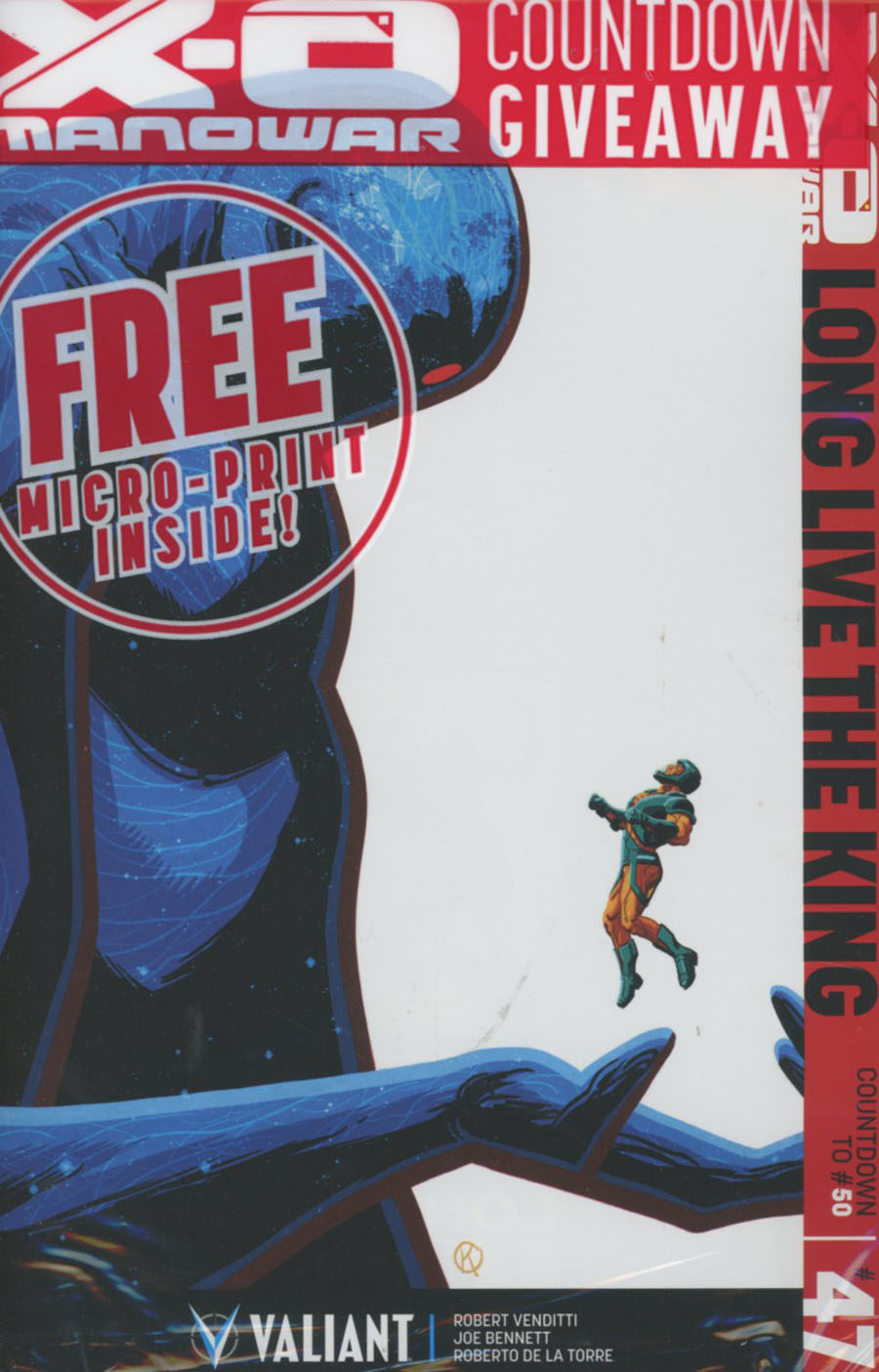 X-O Manowar Vol 3 #47 Cover A 1st Ptg Regular Kano Cover