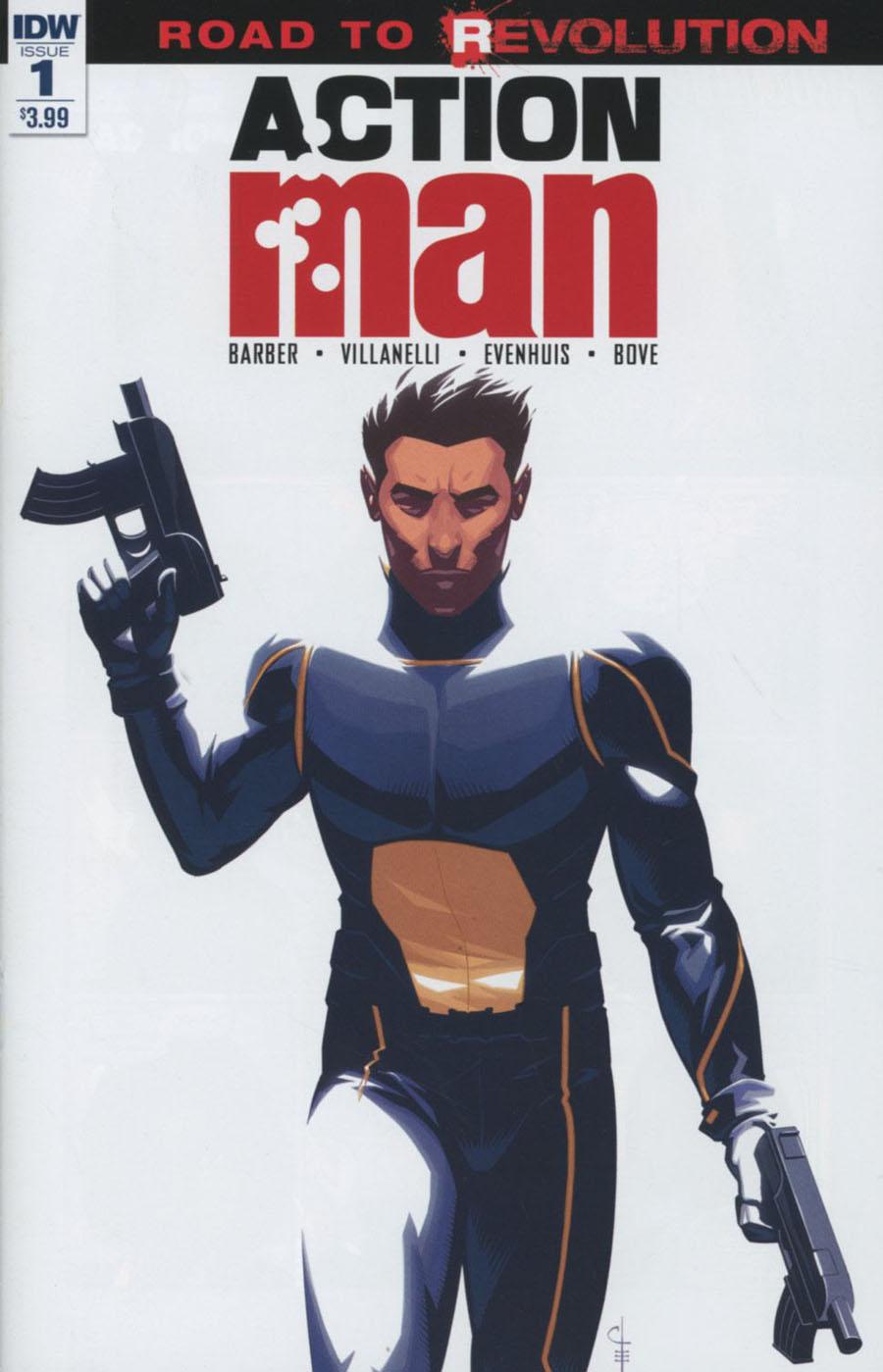 Action Man #1 Cover A Regular Chris Evenhuis Cover