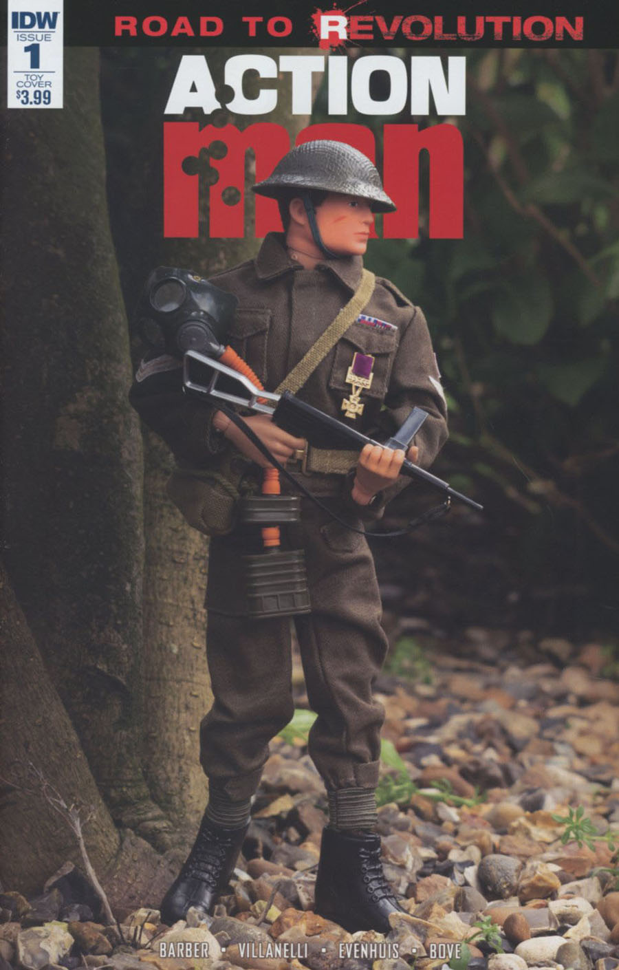 Action Man #1 Cover C Variant Photo Action Figure Cover