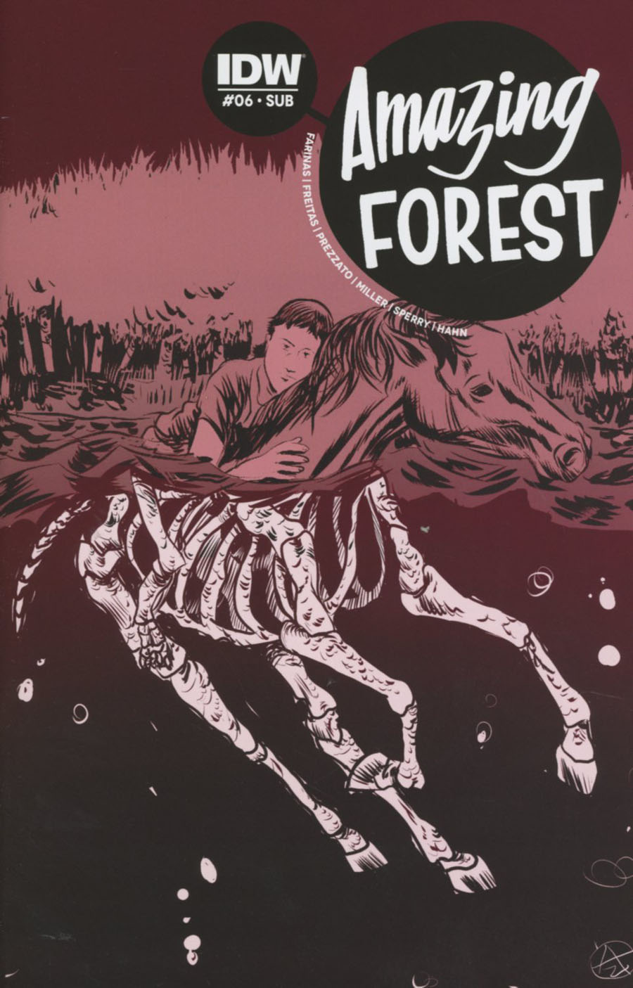 Amazing Forest #6 Cover B Variant Alexis Zirritt Subscription Cover