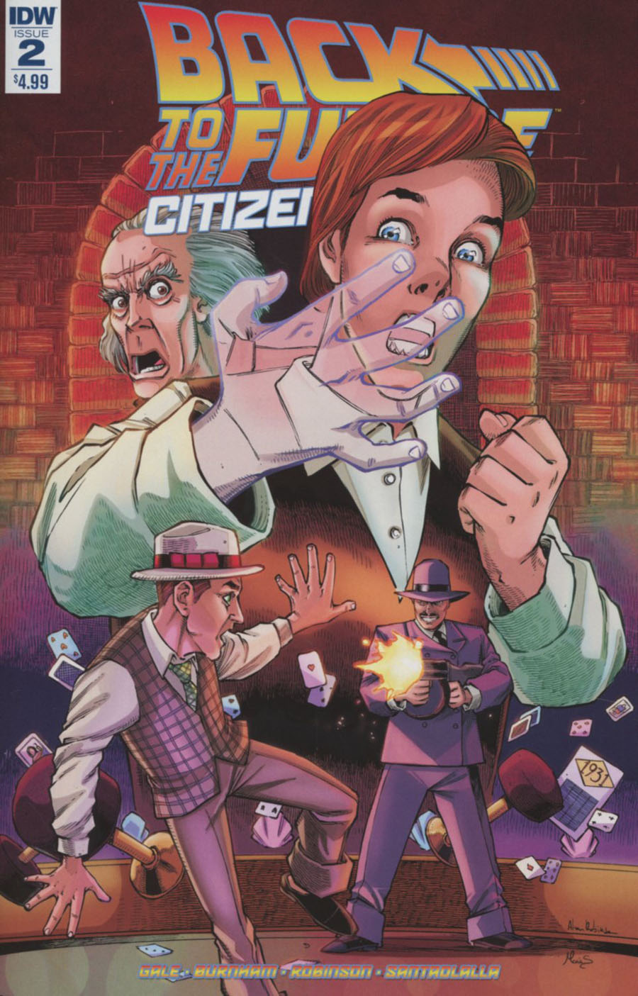 Back To The Future Citizen Brown #2 Cover A Regular Alan Robinson Cover